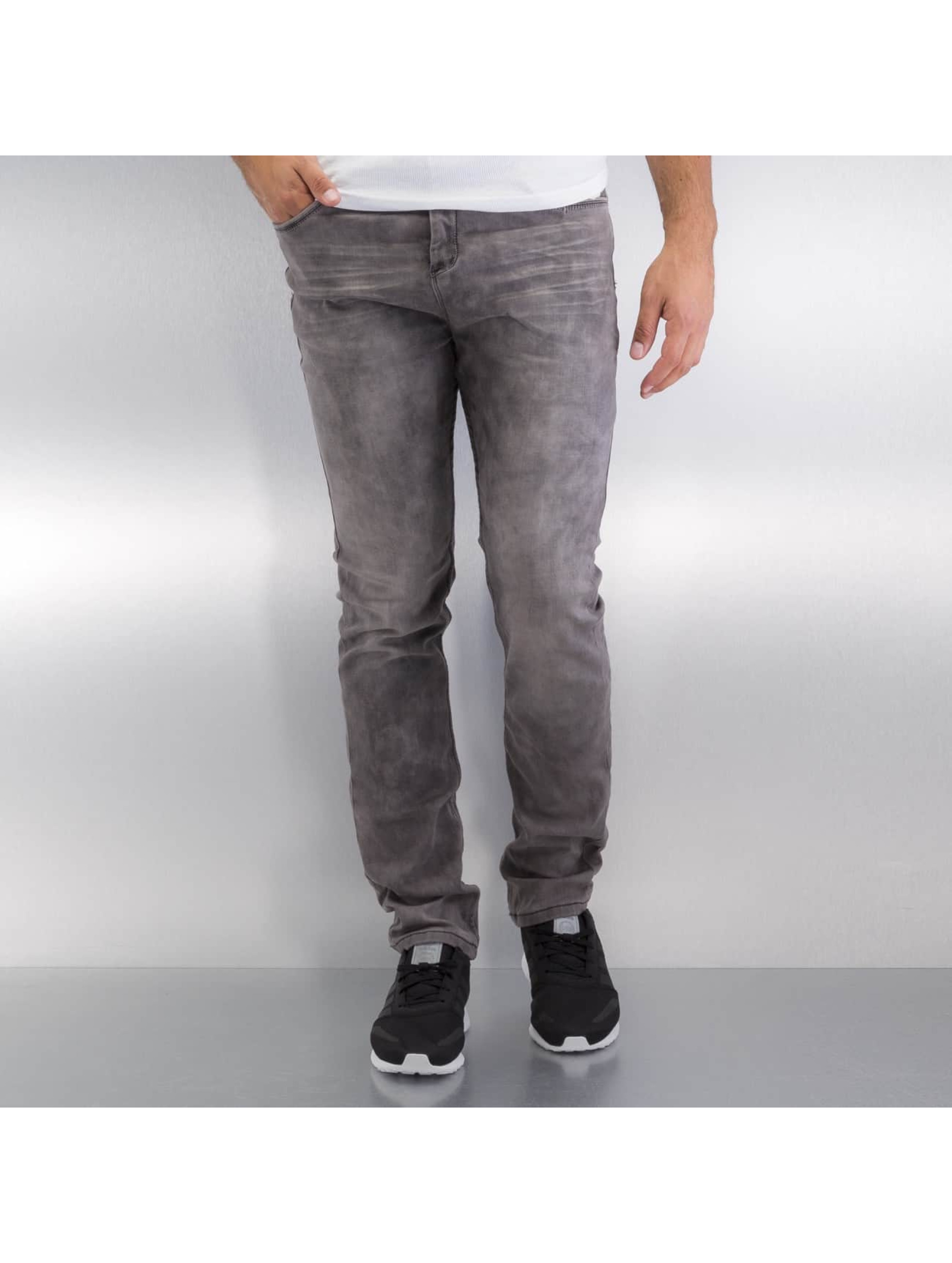 Authentic Style Männer Straight Fit Jeans Jogg in grau