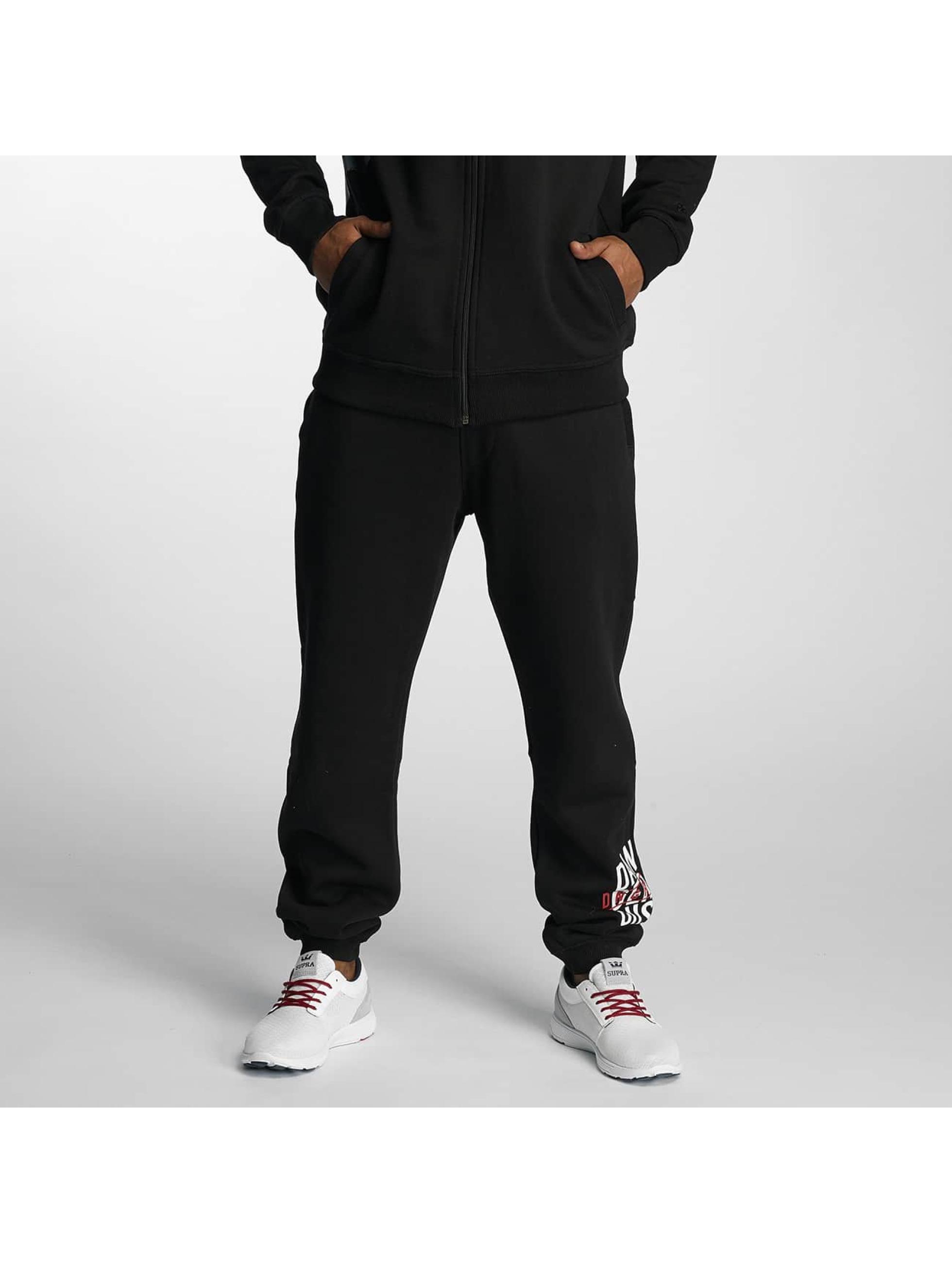 Dangerous DNGRS / Sweat Pant Dangersript in black XL