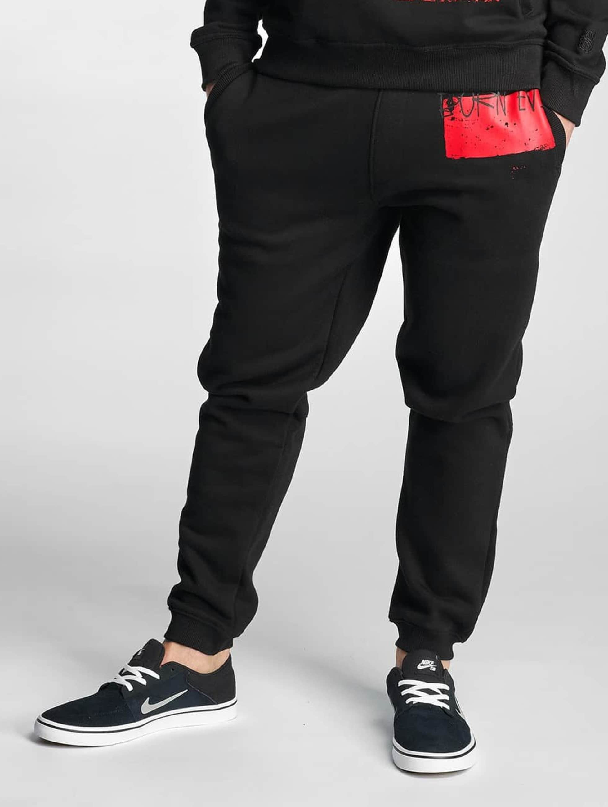 Dangerous DNGRS / Sweat Pant Rising in black M