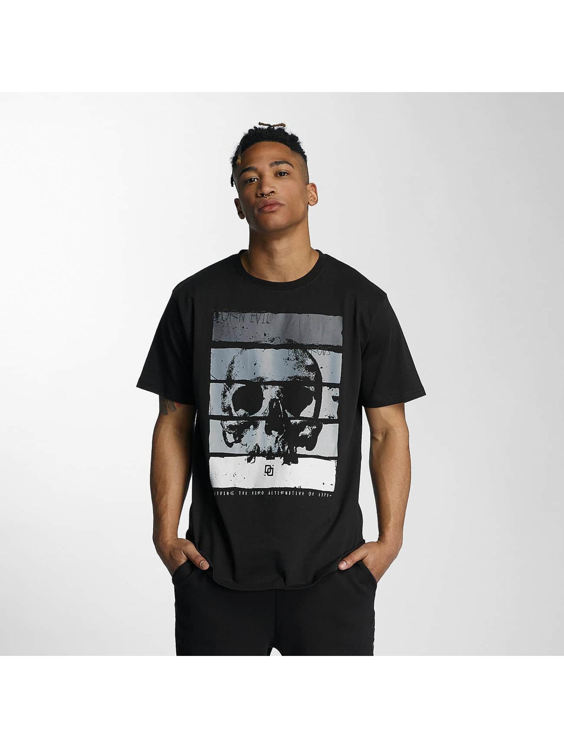 Griesen Angebote Dangerous DNGRS Männer T-Shirt Rising in schwarz