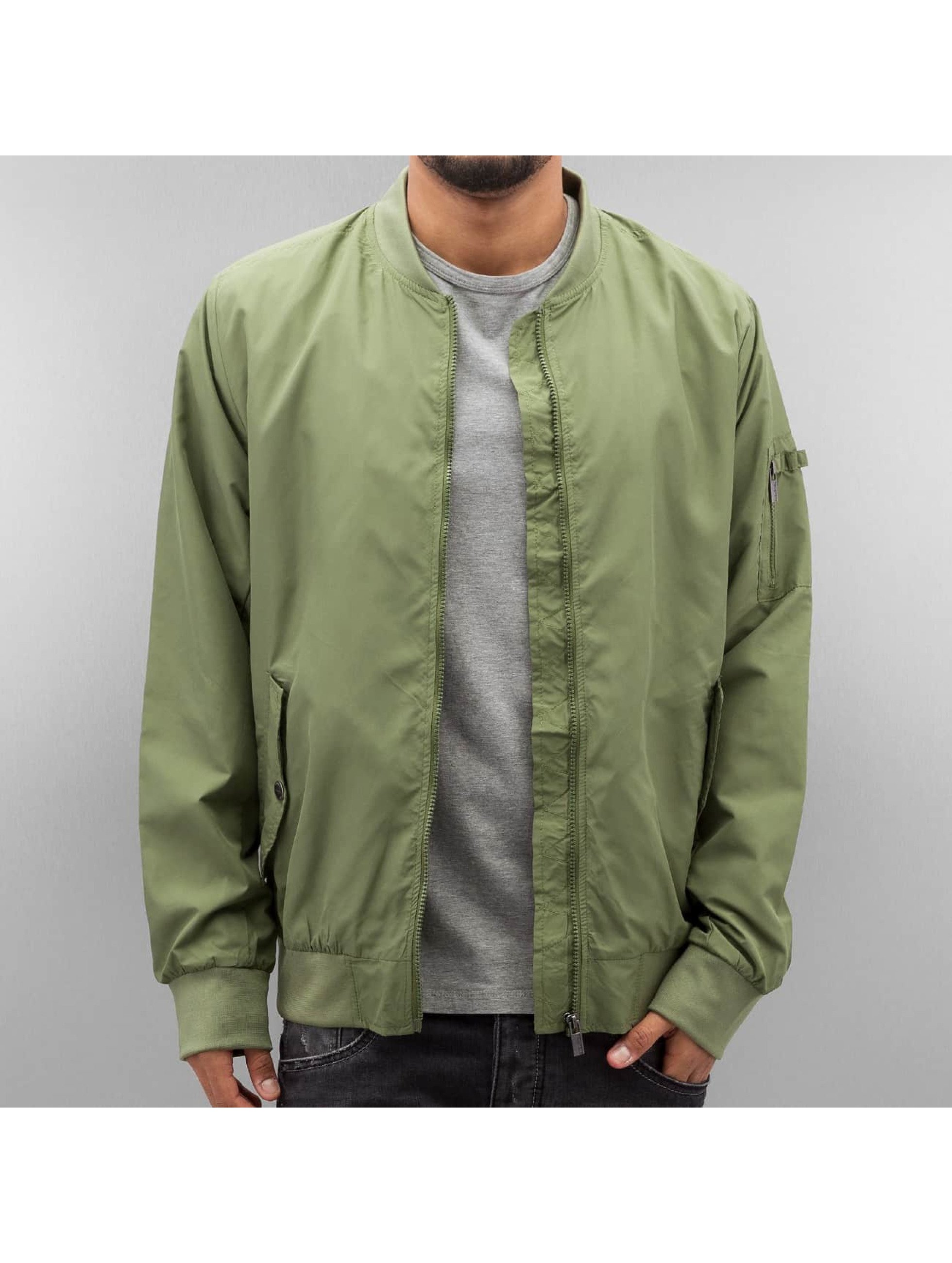 Authentic Style Männer Bomberjacke Thin in olive