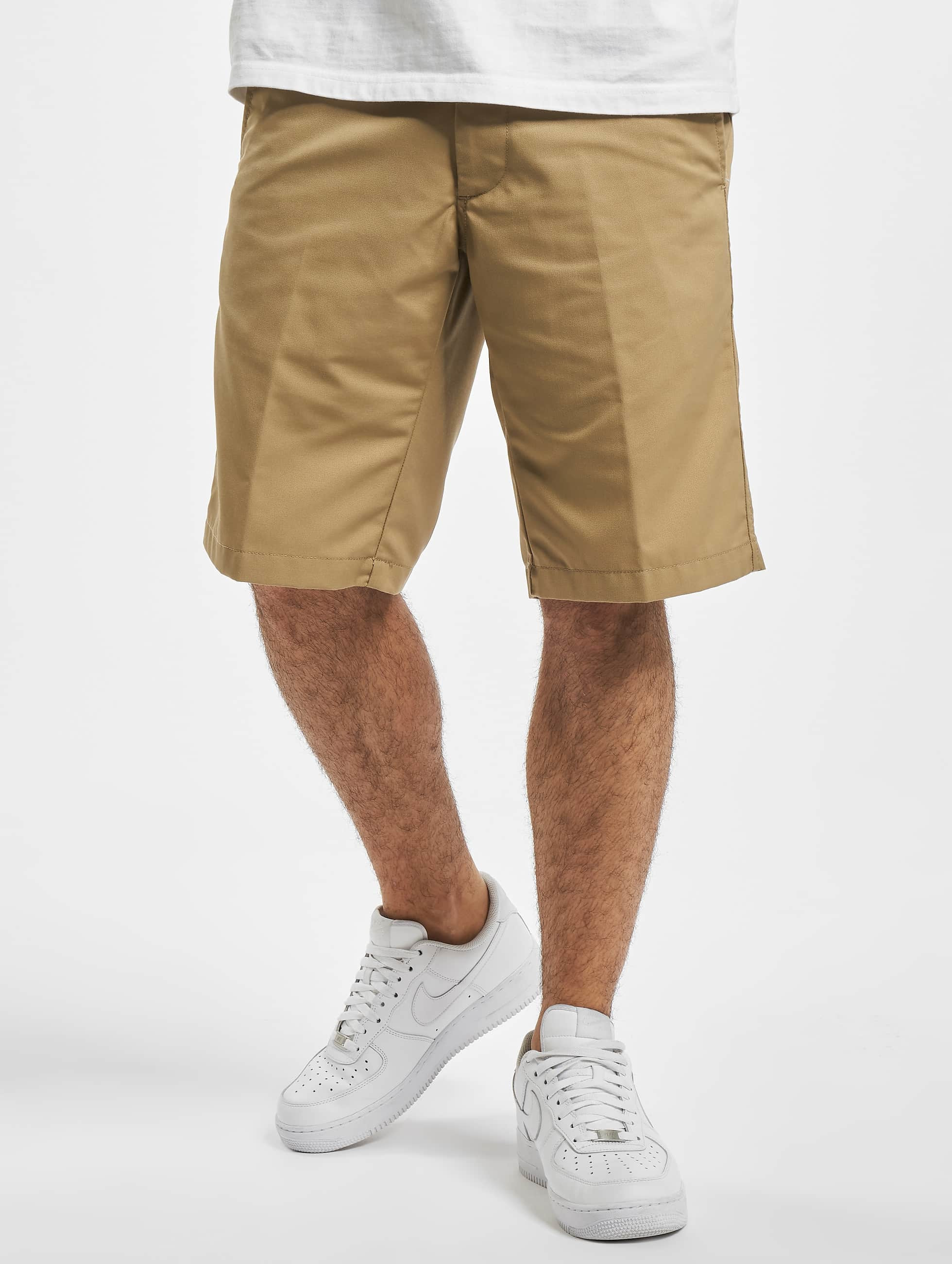 Carhartt WIP Dunmore Presenter Regular Fit Short Leather Rinsed