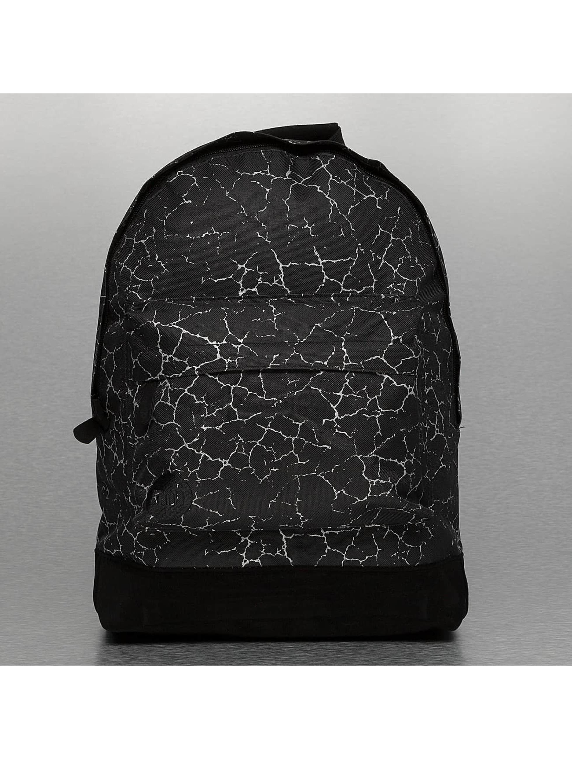 Mi-Pac Männer,Frauen Rucksack Cracked in schwarz