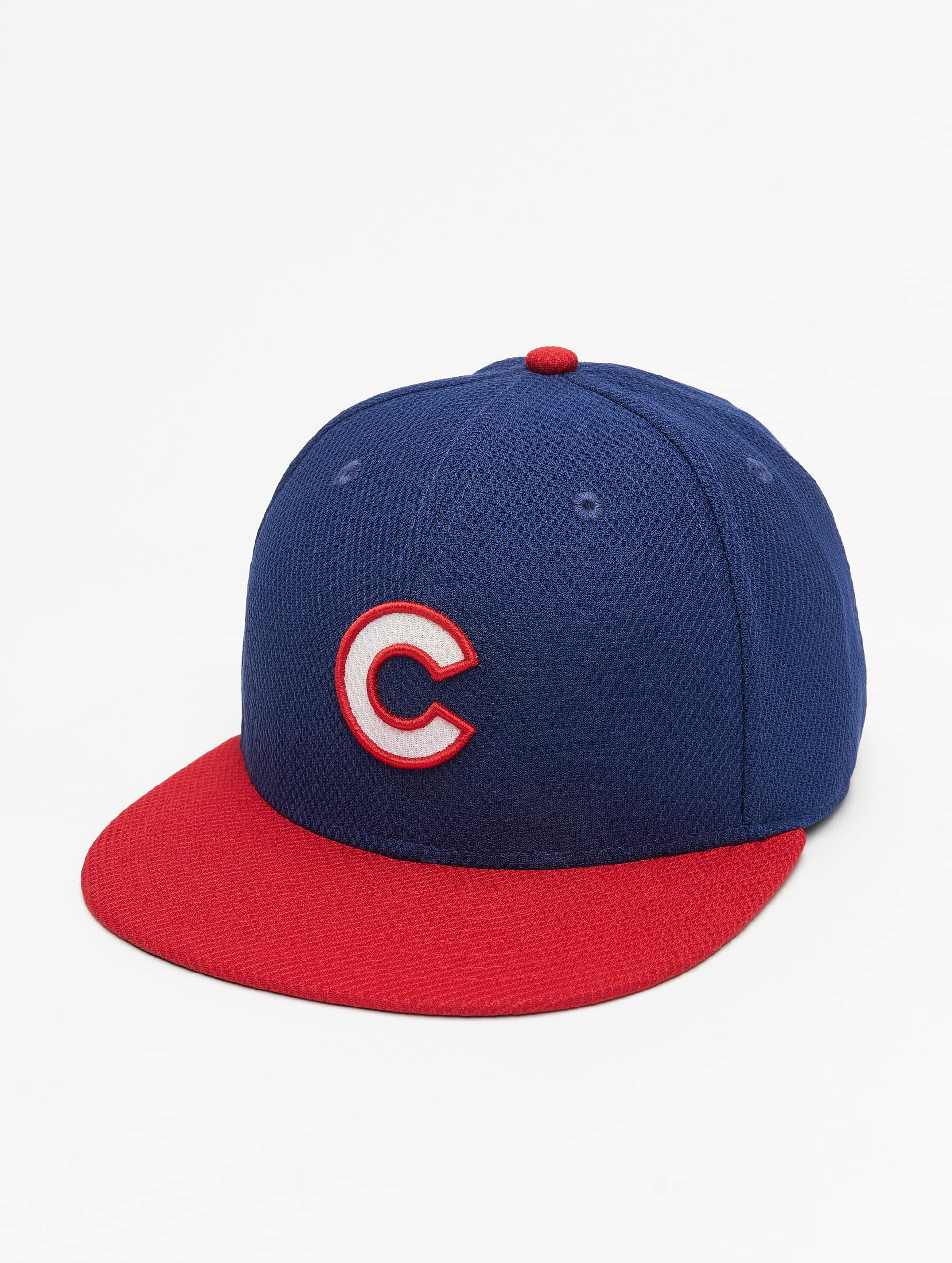 New Era Männer,Frauen Fitted Cap Diamond Chicago Cubs in blau Sale Angebote Guteborn