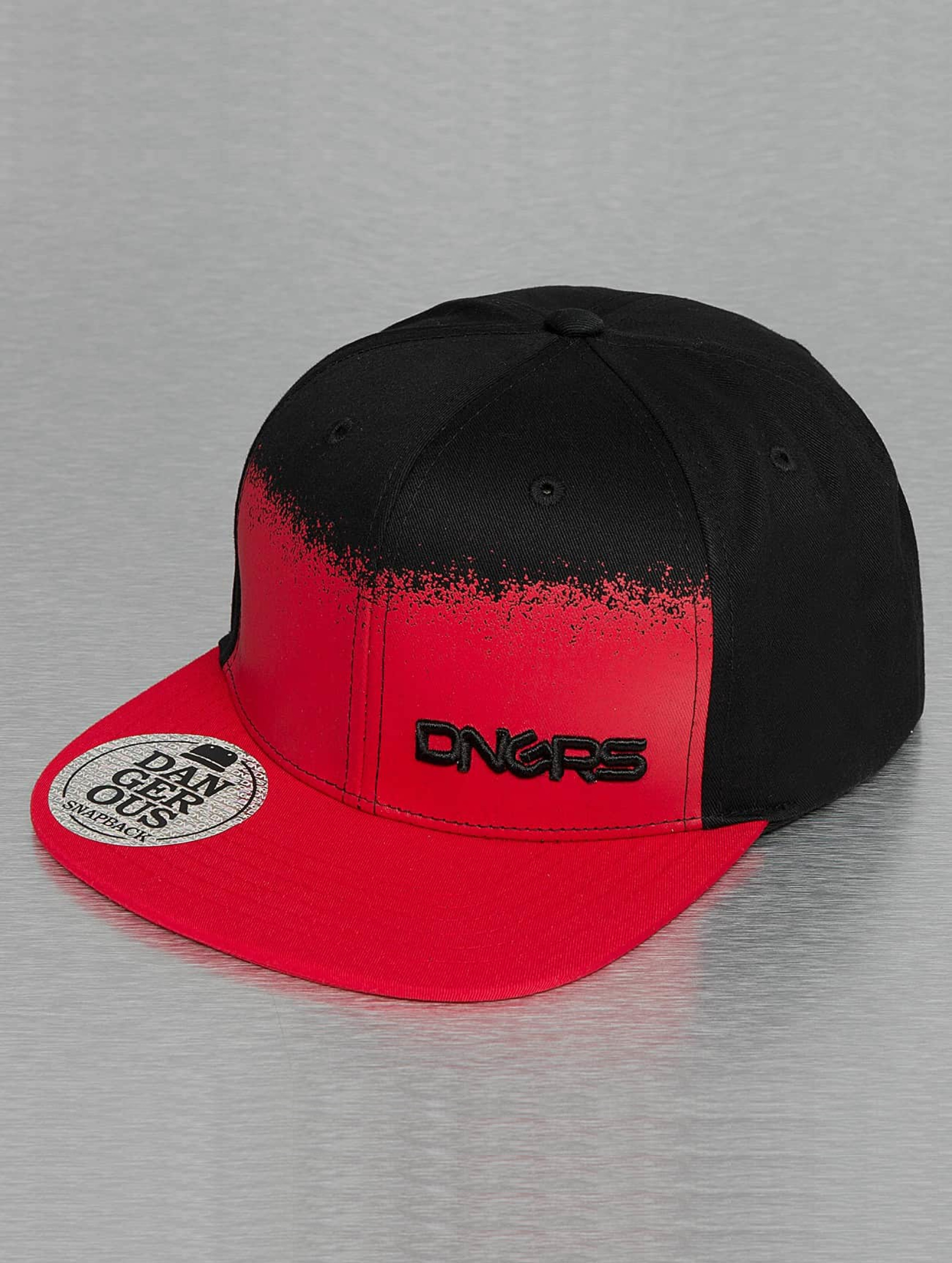 Dangerous DNGRS / Snapback Cap Two Tone in red Adjustable