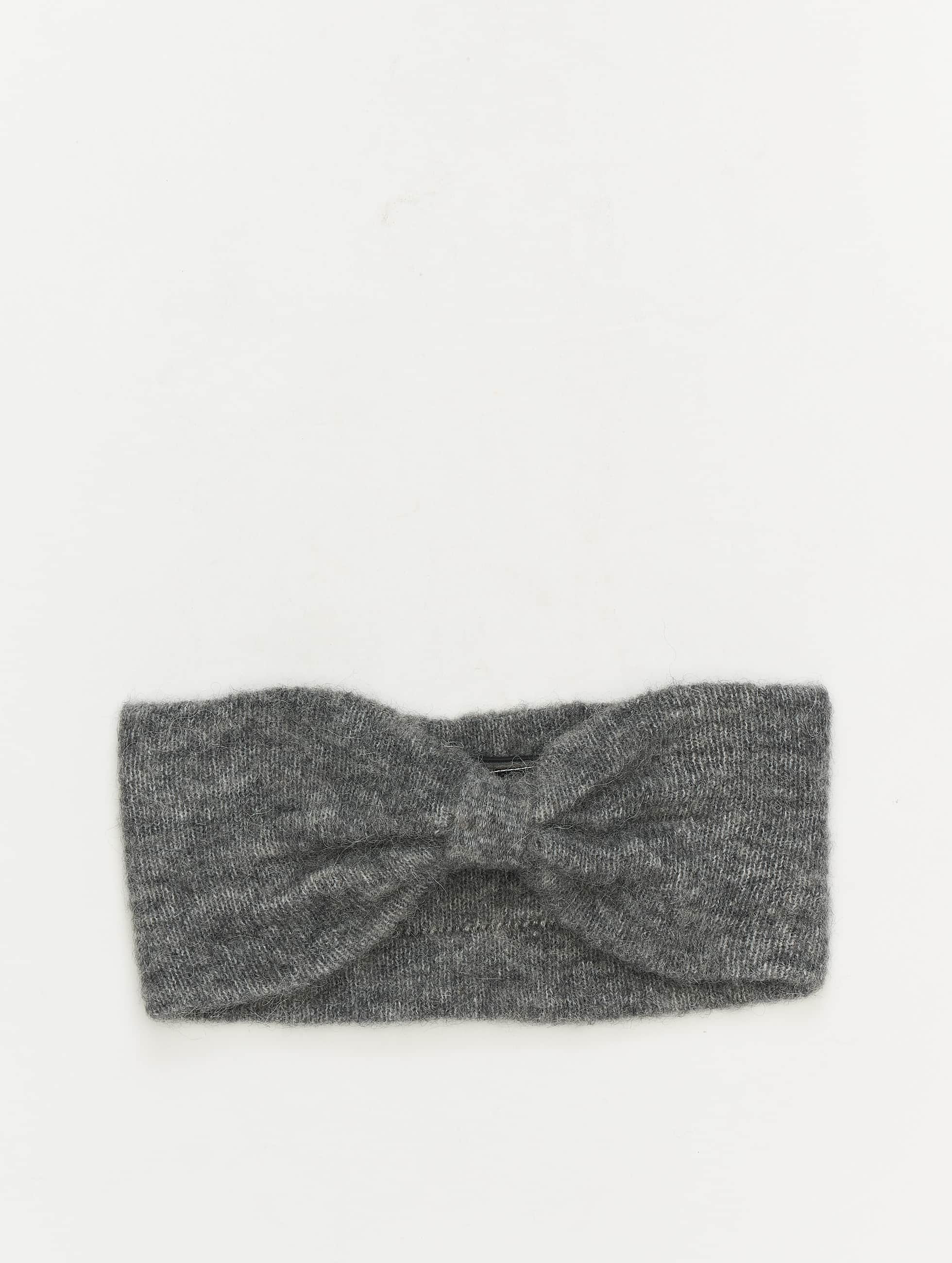 Pieces | pcJosefine Wool Headband gris Femme Cache oreilles