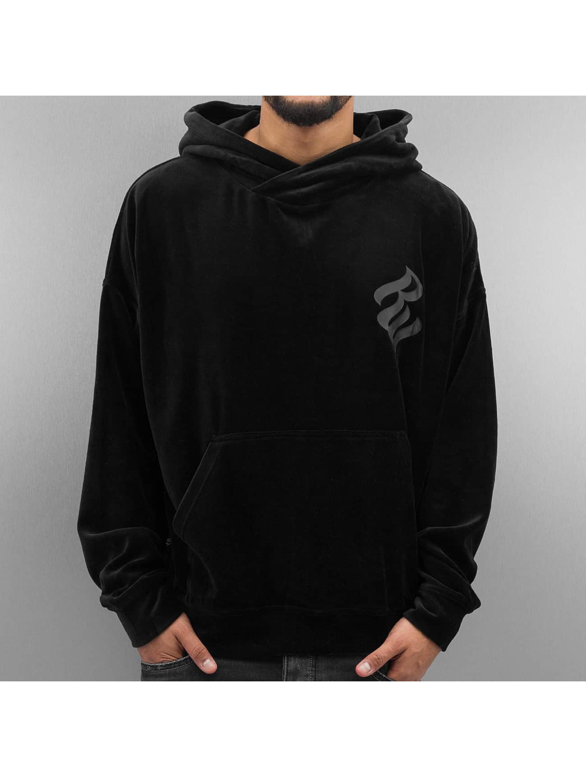 Rocawear / Hoodie Velour II Samt in black L