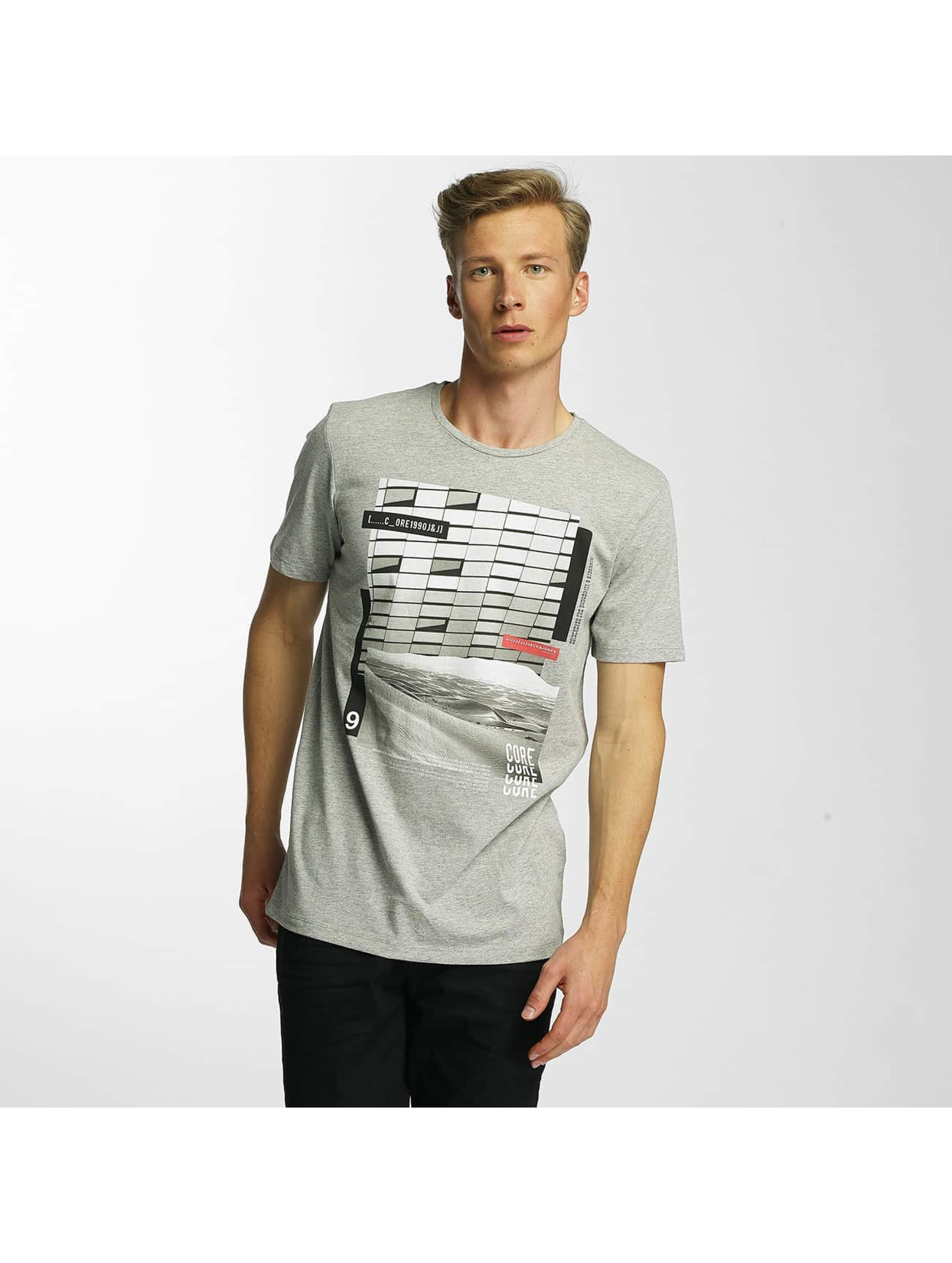 Jack & Jones Männer T-Shirt jcoCita in grau
