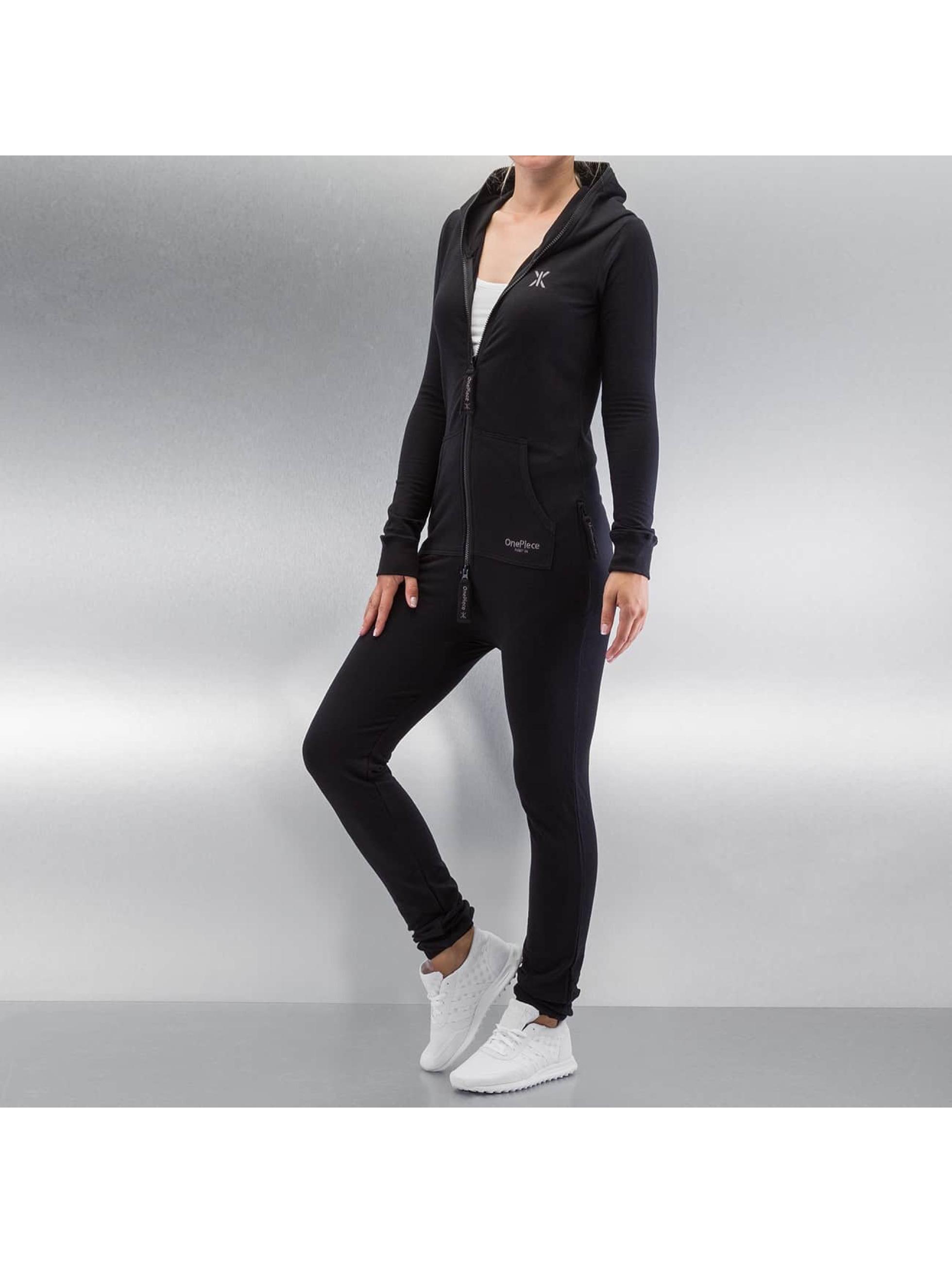 OnePiece Frauen Jumpsuit Original Slim in schwarz