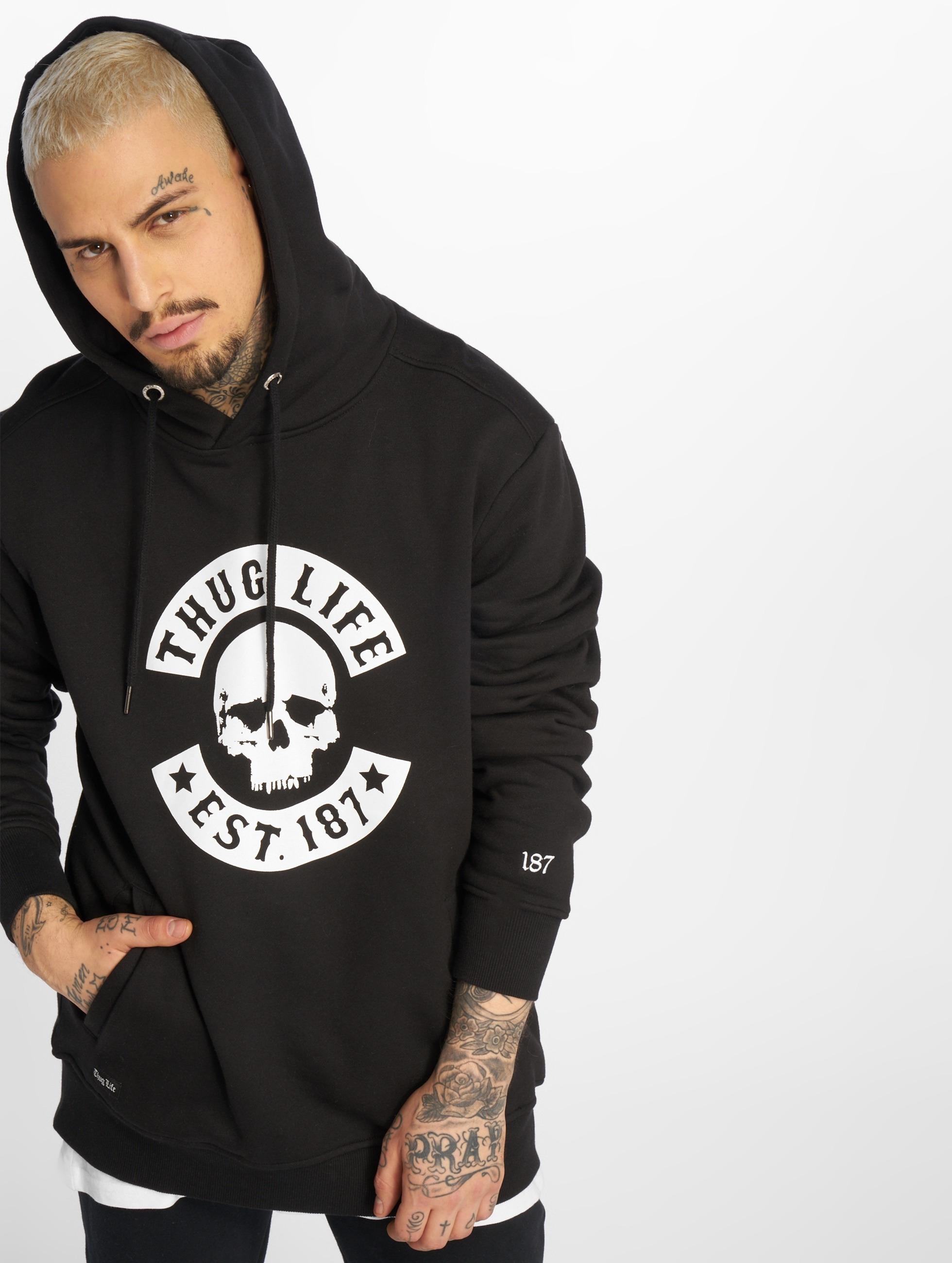 Thug Life / Hoodie Z-Ro in black S