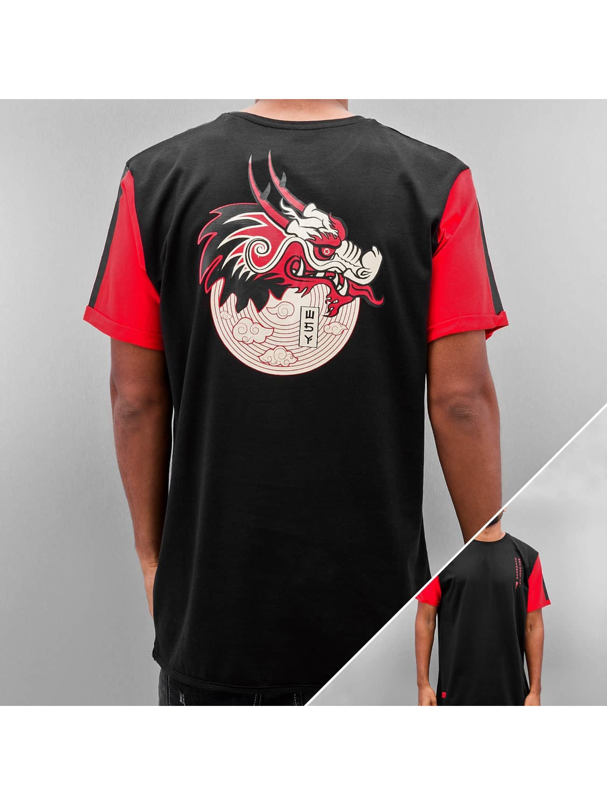 Who Shot Ya? Männer T-Shirt Dragonpower in schwarz