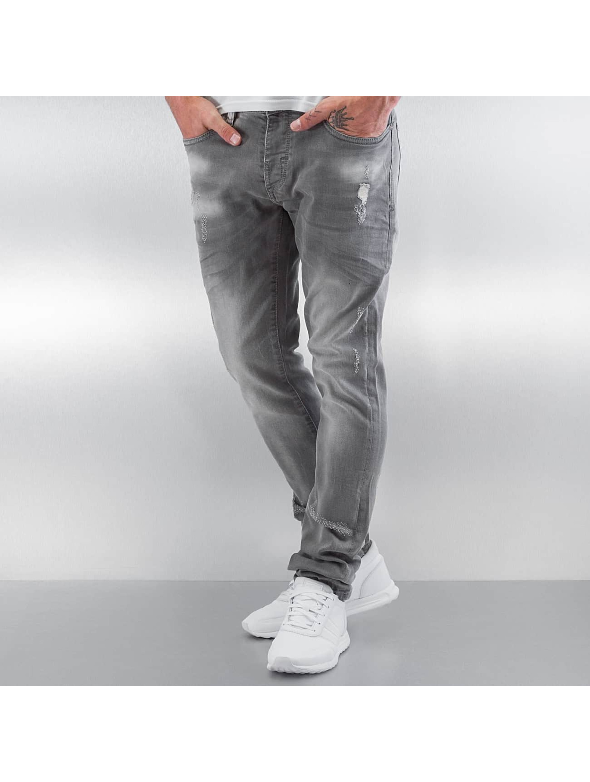 Pascucci Männer Straight Fit Jeans Tossi in grau