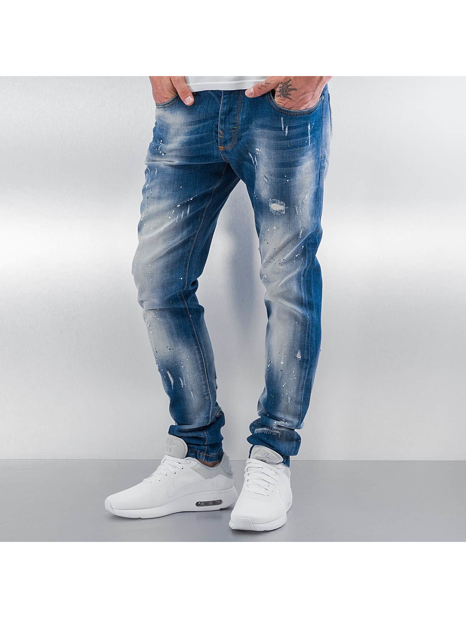 Pascucci Männer Straight Fit Jeans Ymsi in blau