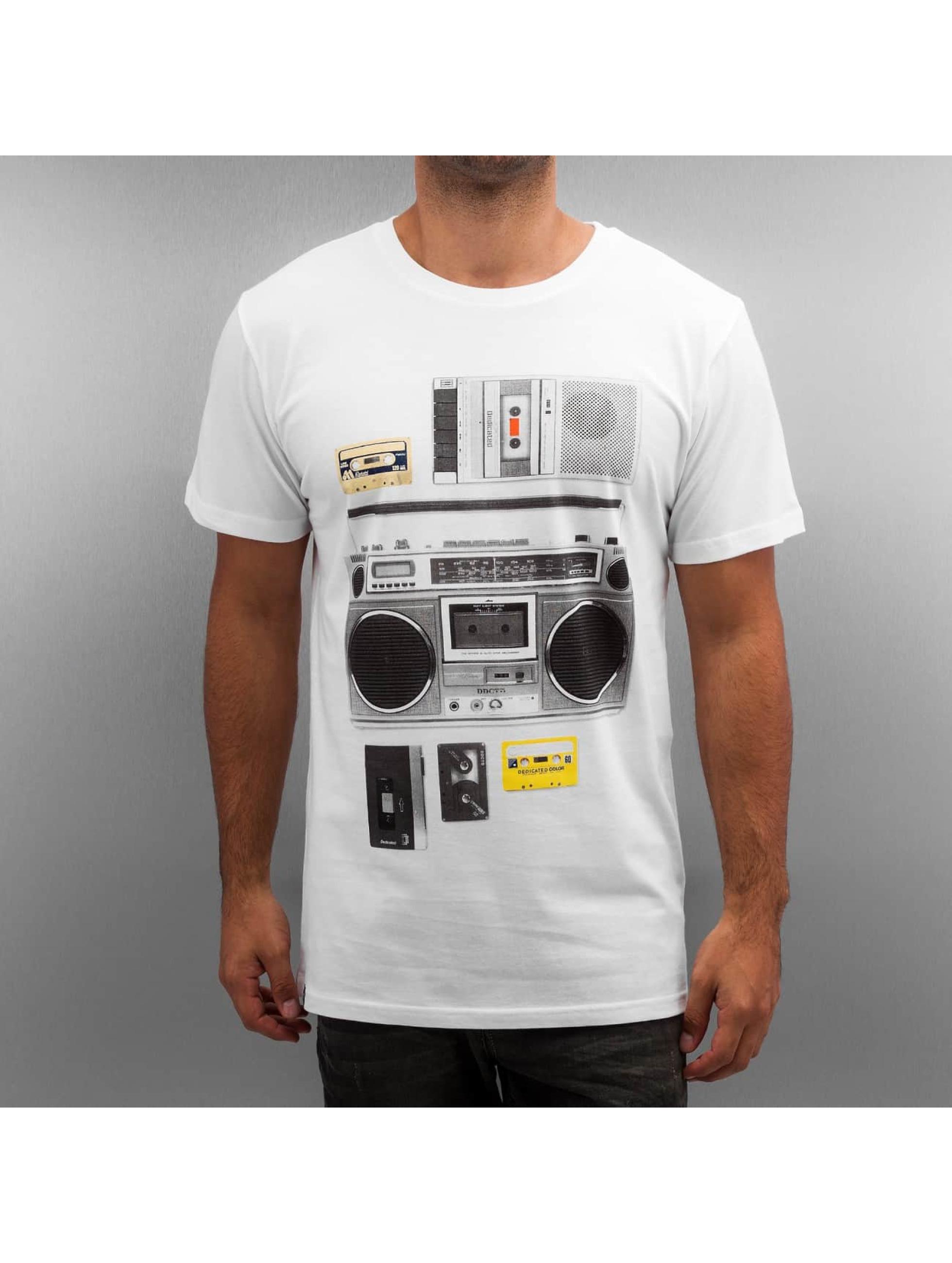 DEDICATED Männer T-Shirt Casette Playa in weiß