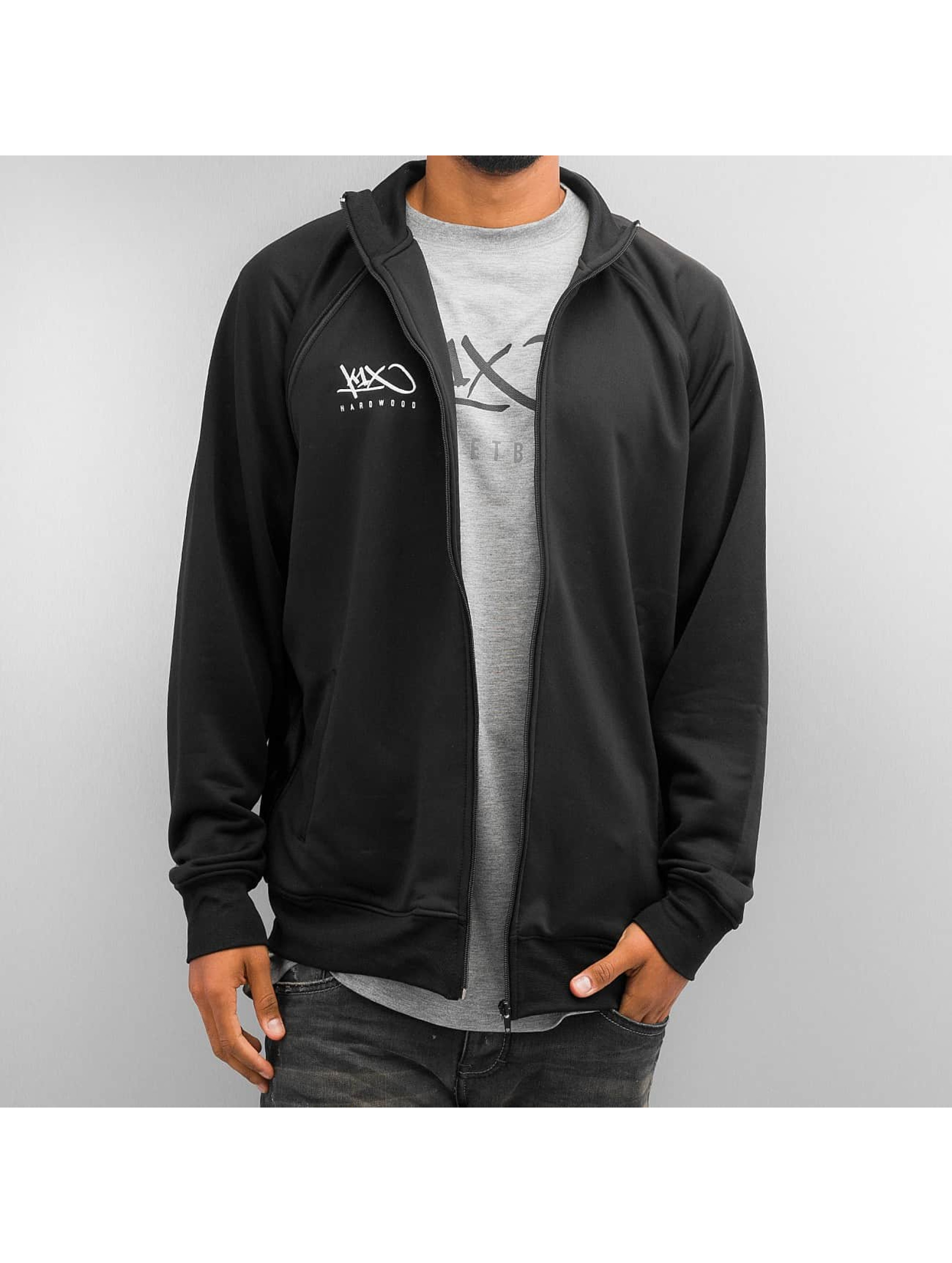 K1X Männer Übergangsjacke Hardwood Intimidator Warm Up in schwarz