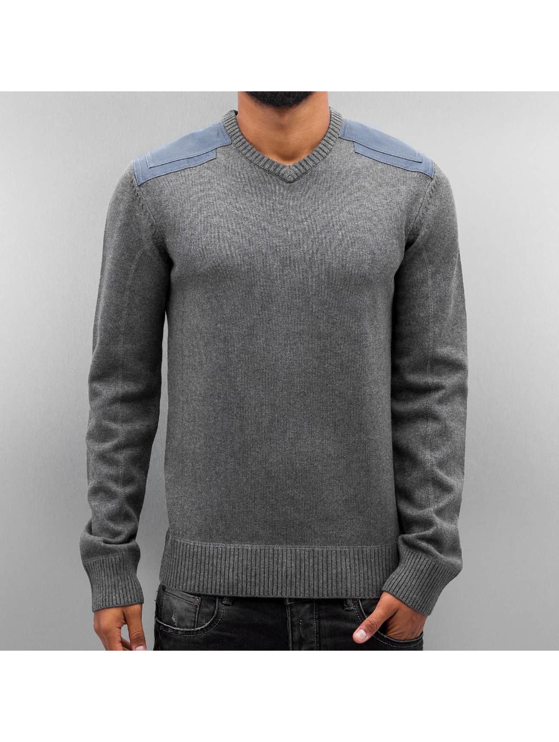 Cordon Männer Pullover Wayde in grau