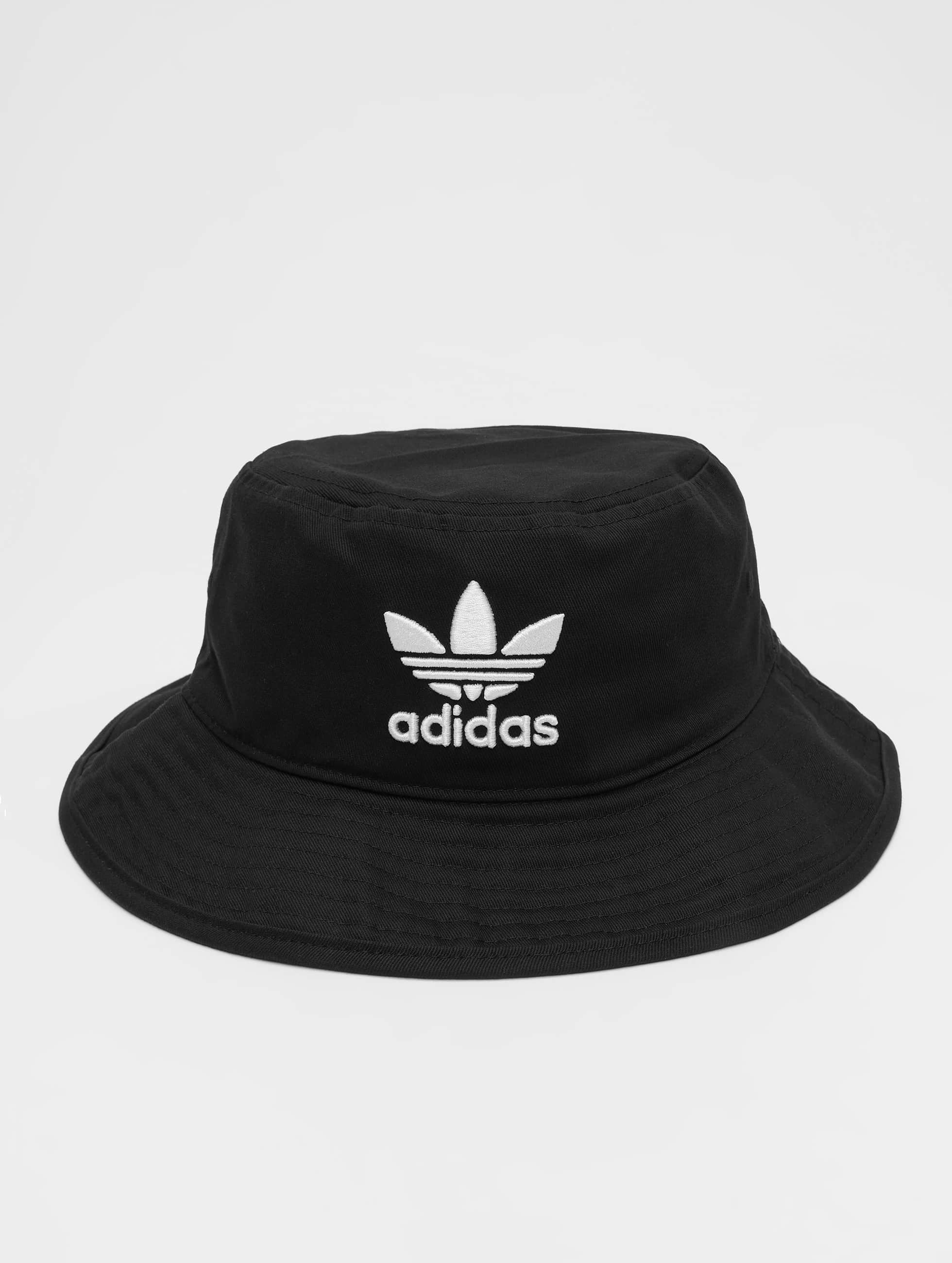 adidas Männer,Frauen Hut Trefoil in schwarz