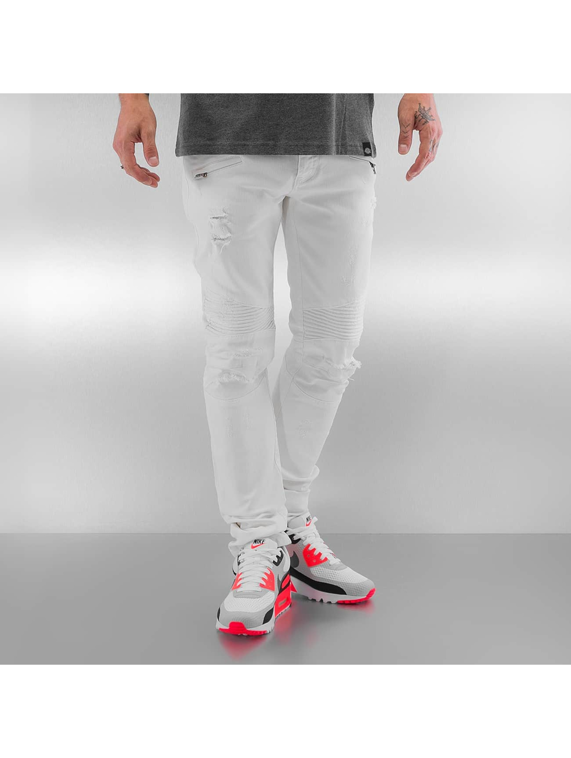 Pascucci Männer Skinny Jeans Bell in weiß