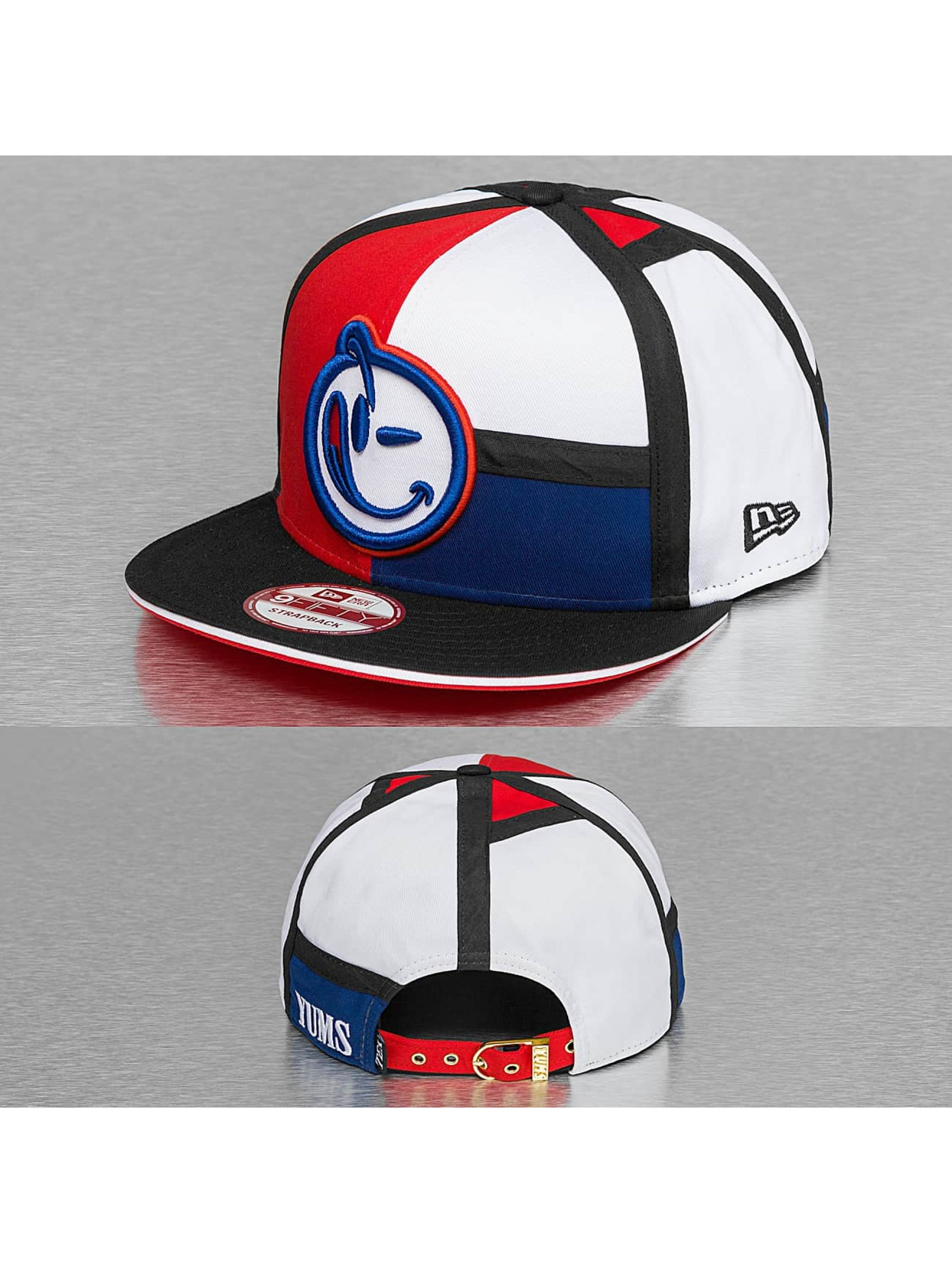 Yums New Era Black Tag Couture Strapback Cap Red/White/Blue/Black Sale Angebote