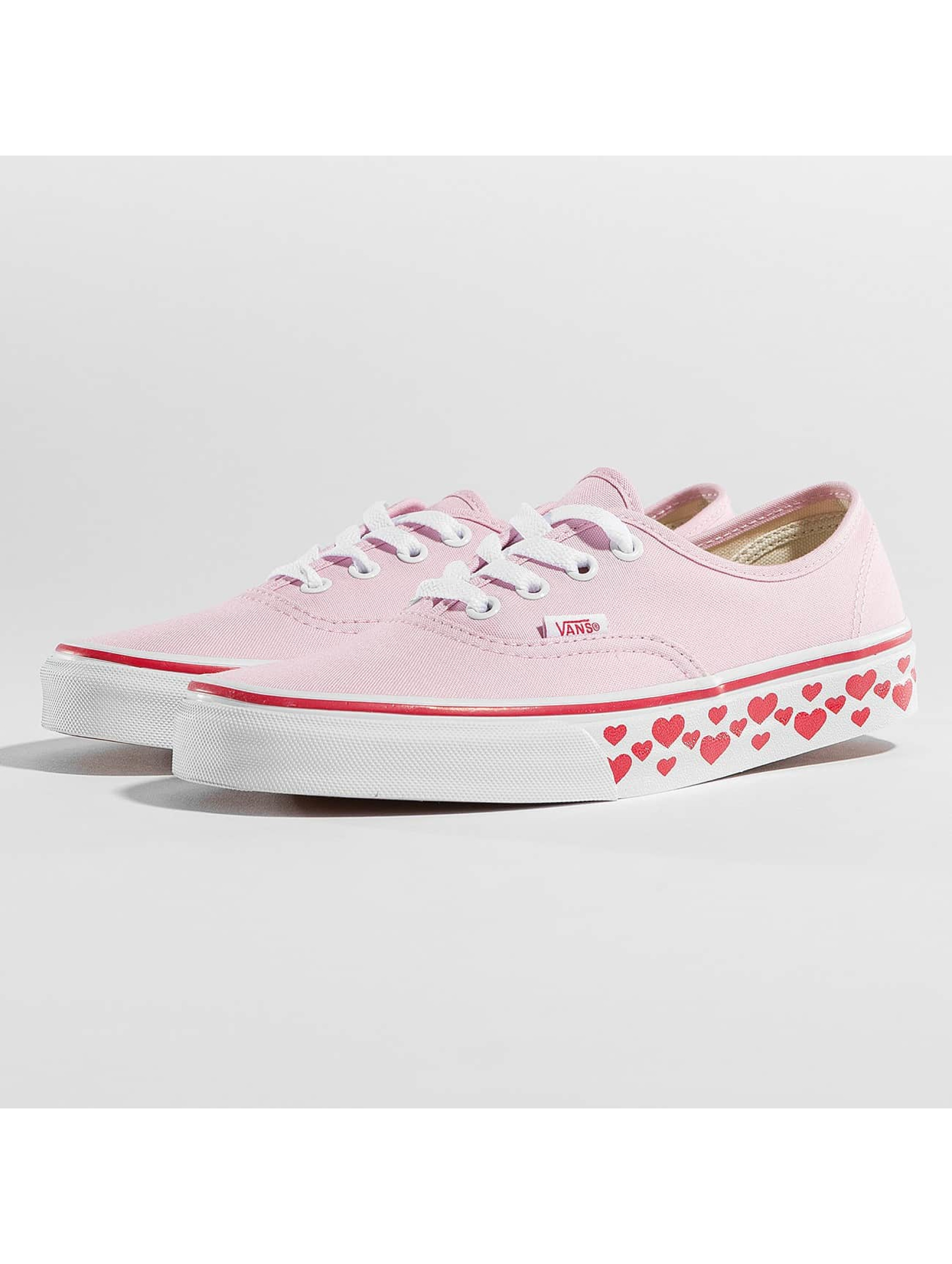 vans damen authentic rosa