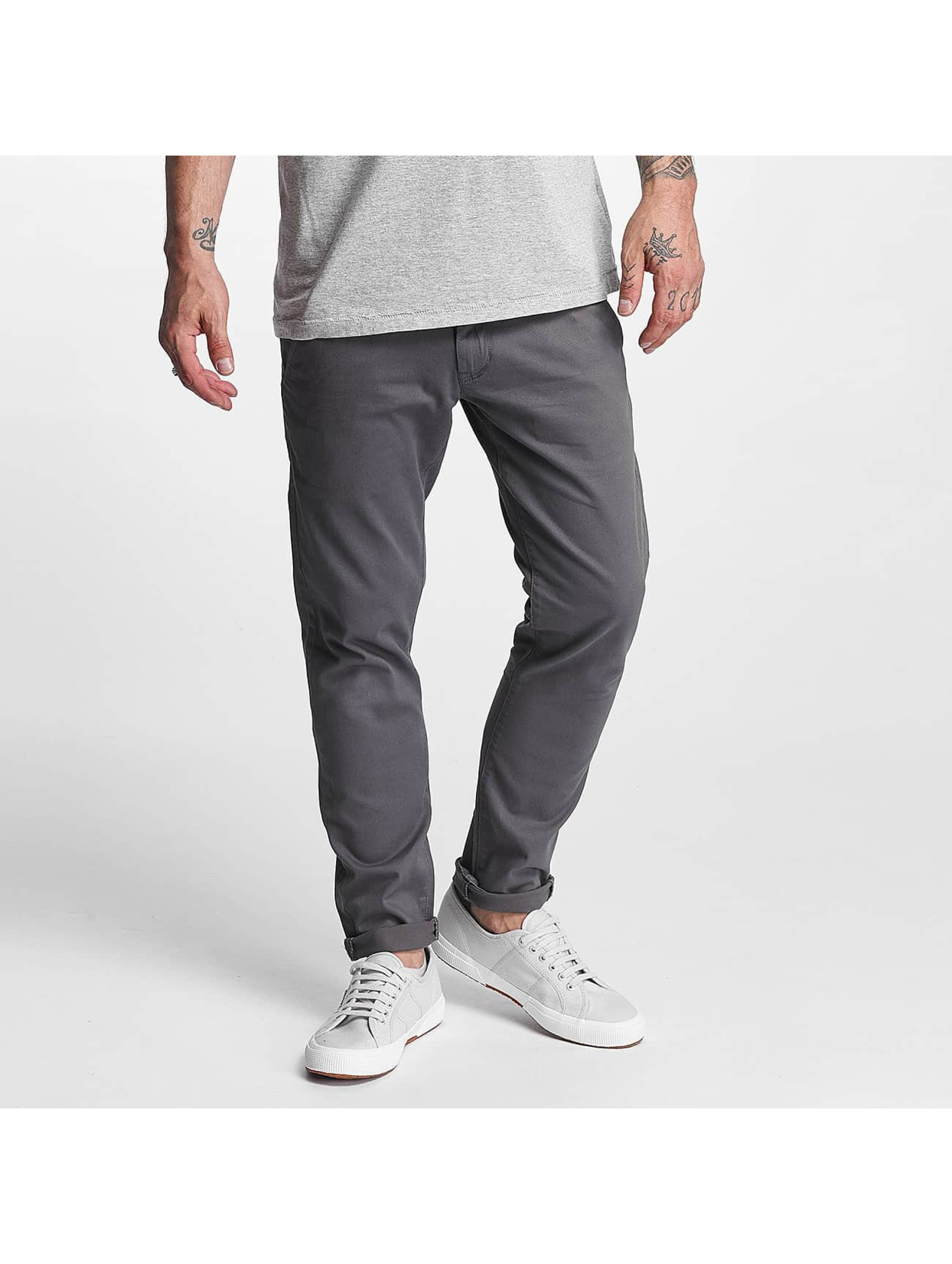 Reell Jeans Männer Chino Flex Tapered in grau