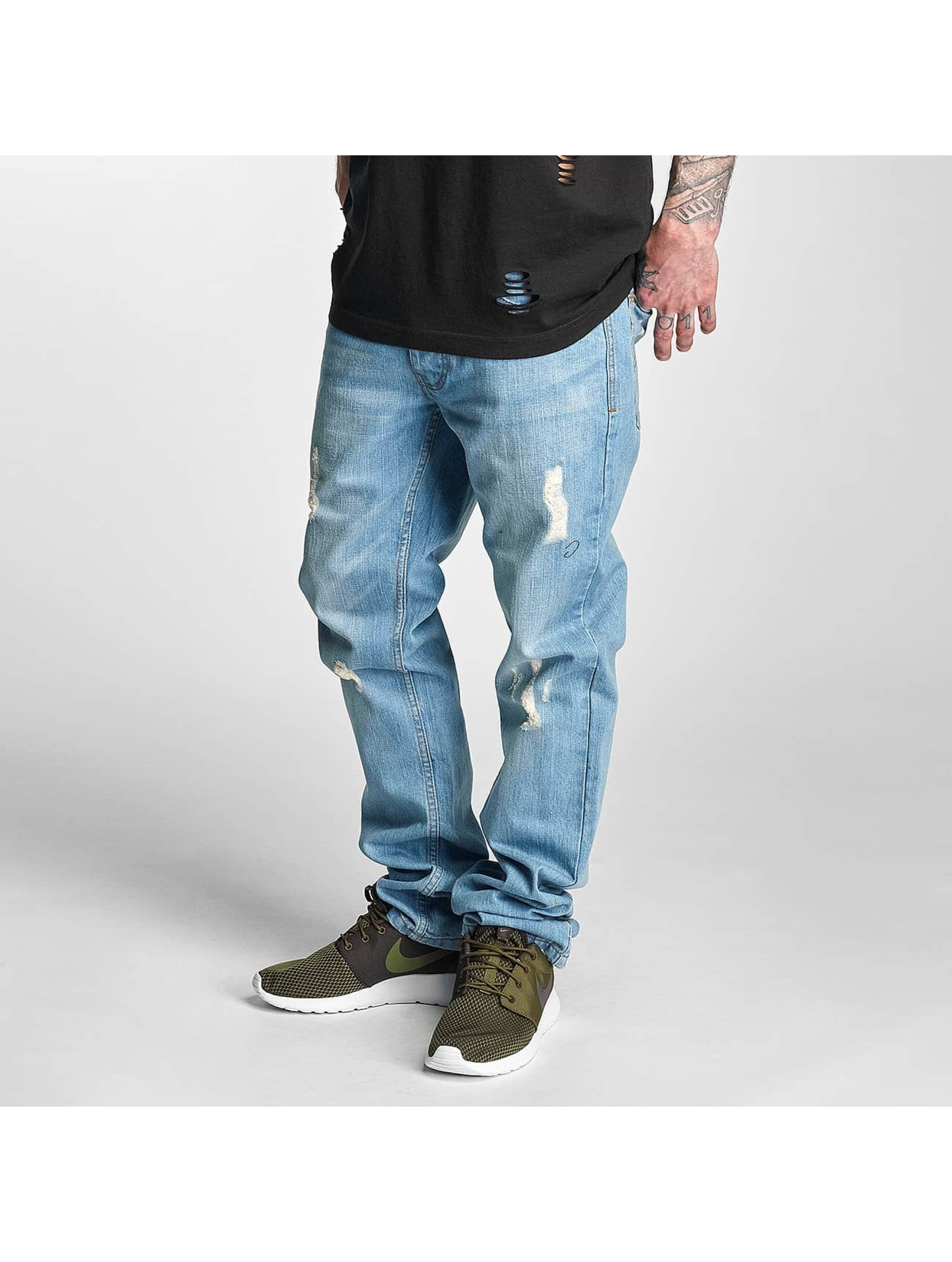 Rocawear / Straight Fit Jeans Relaxed in blue W 34