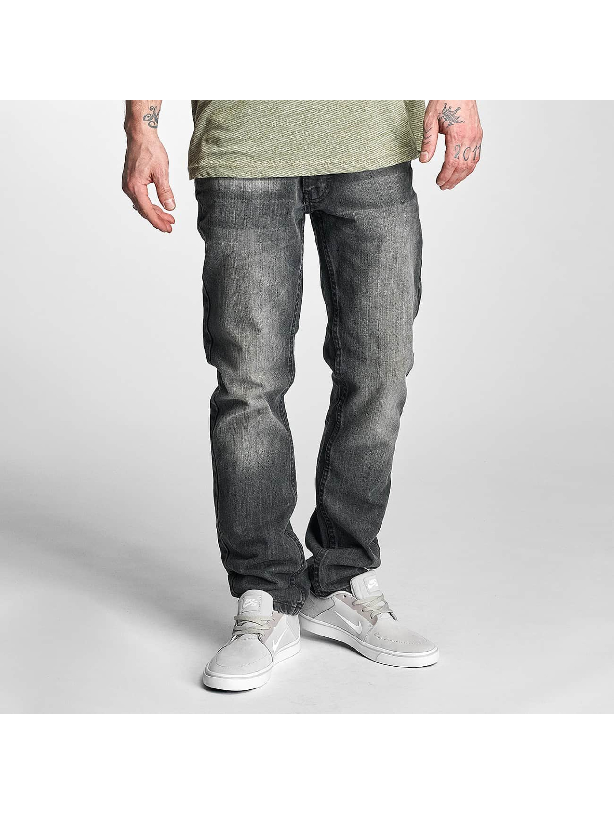 Rocawear Männer Straight Fit Jeans Relaxed in grau