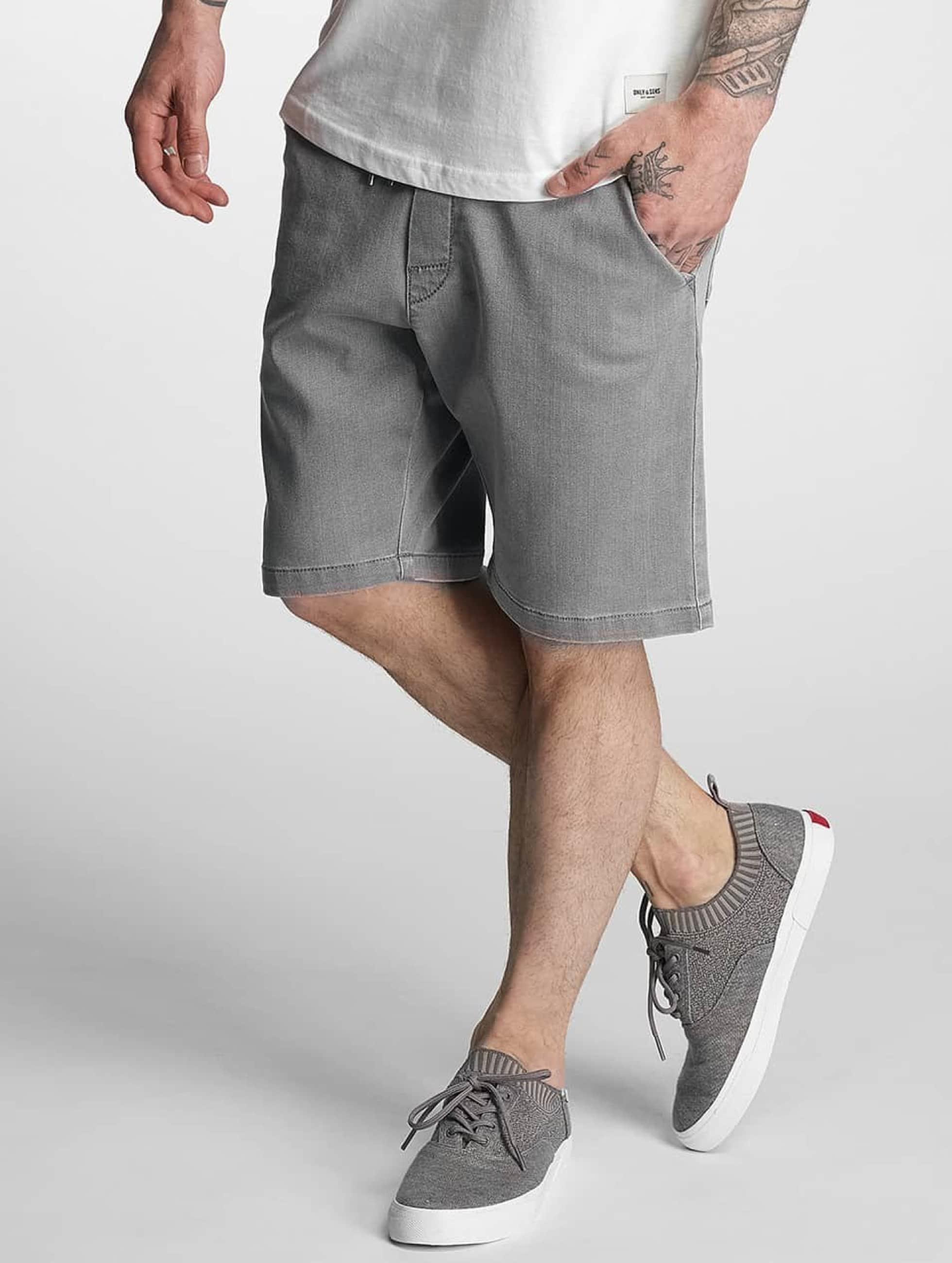 Reell Jeans Männer Shorts Easy in grau