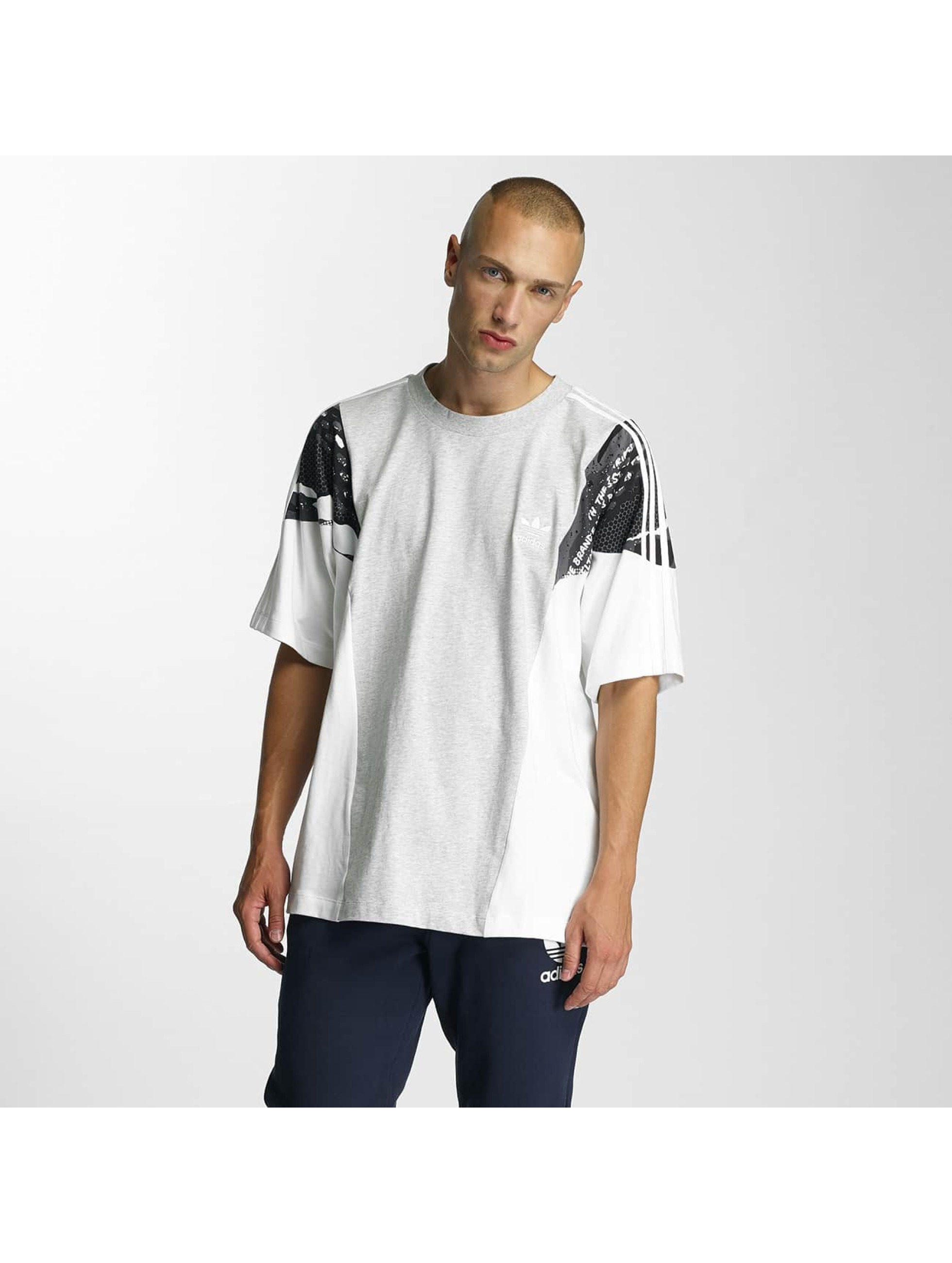 adidas Männer T-Shirt LA Boxy in weiß