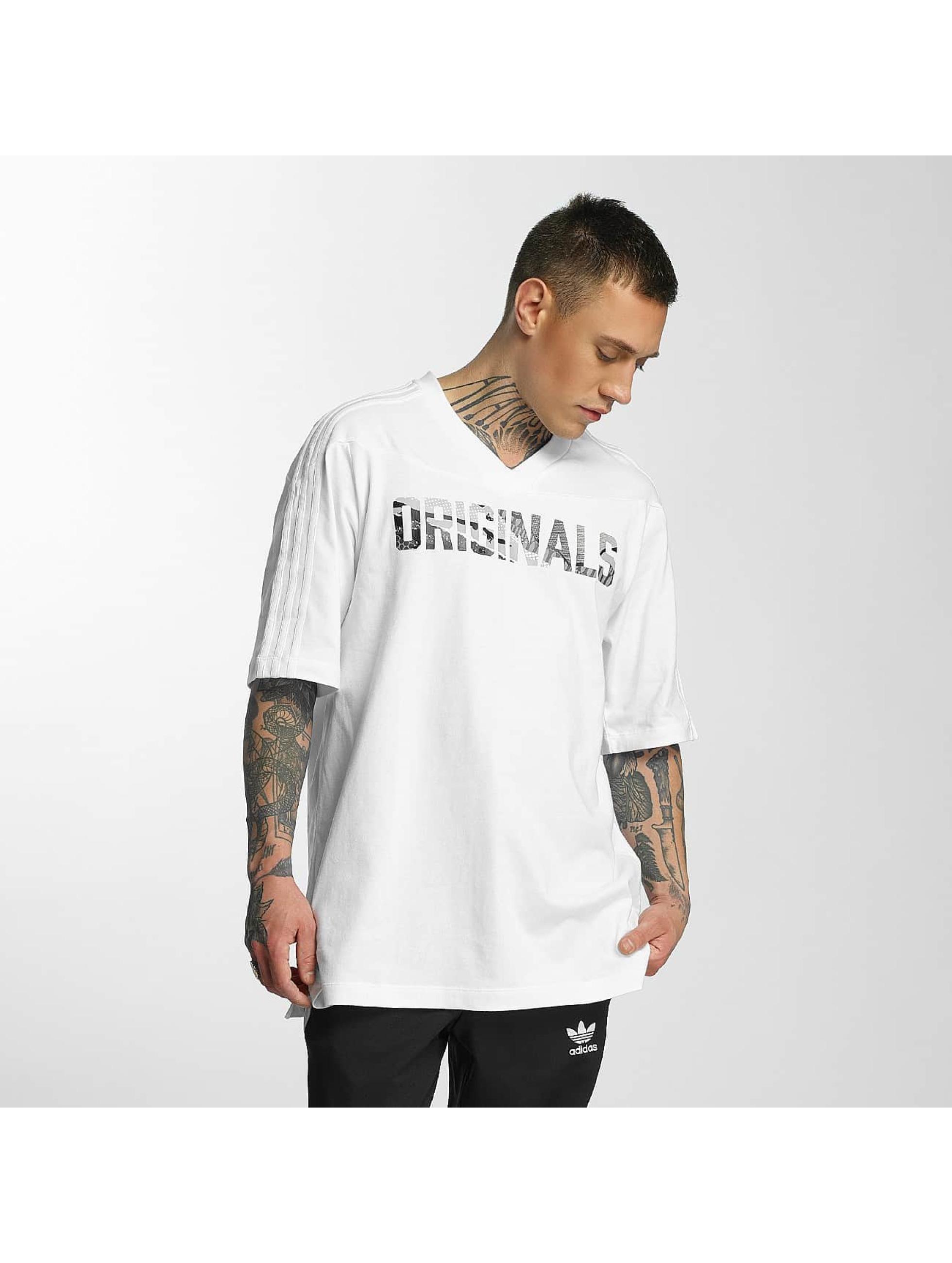 adidas Männer T-Shirt LA in weiß