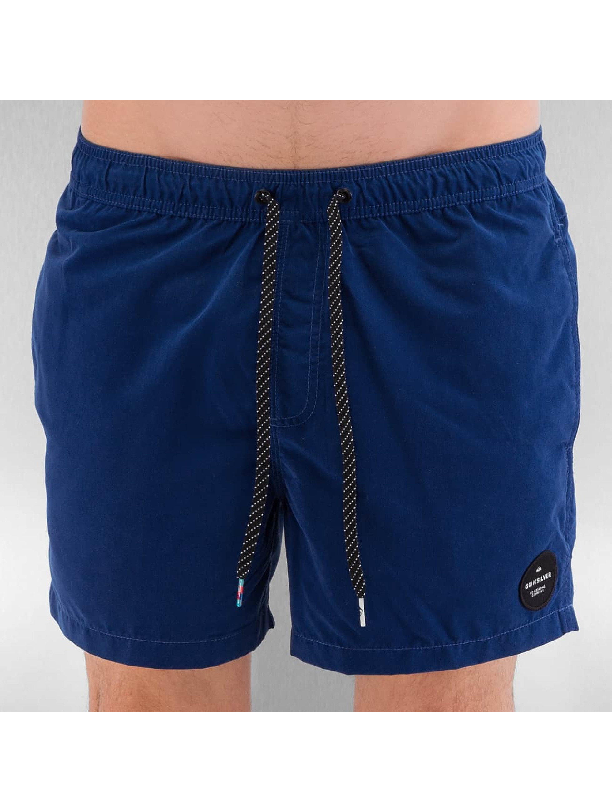 Quiksilver Männer Badeshorts Everyday Solid Volley 15 in blau