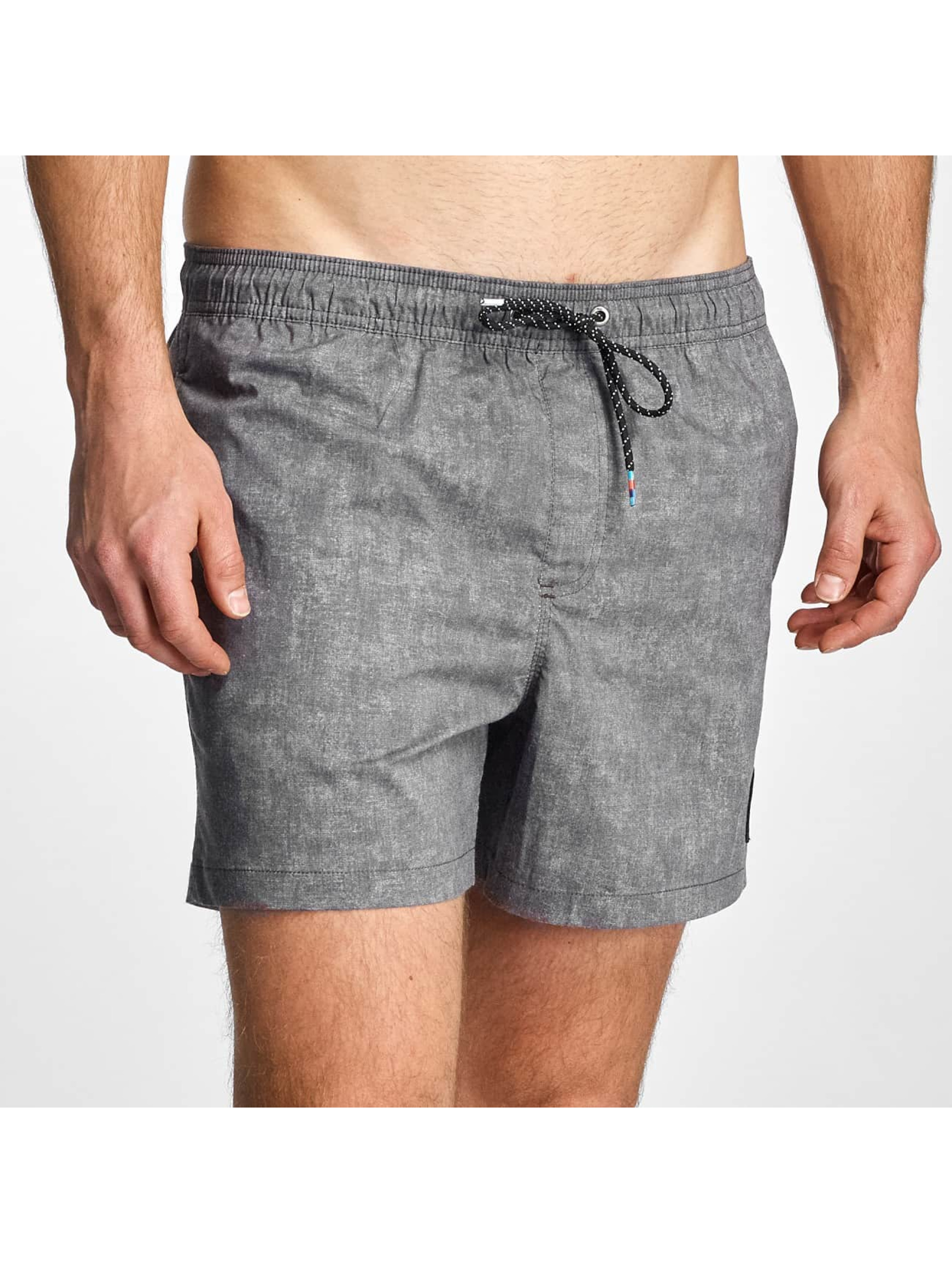 Quiksilver Männer Badeshorts Acid Volley 15 in grau