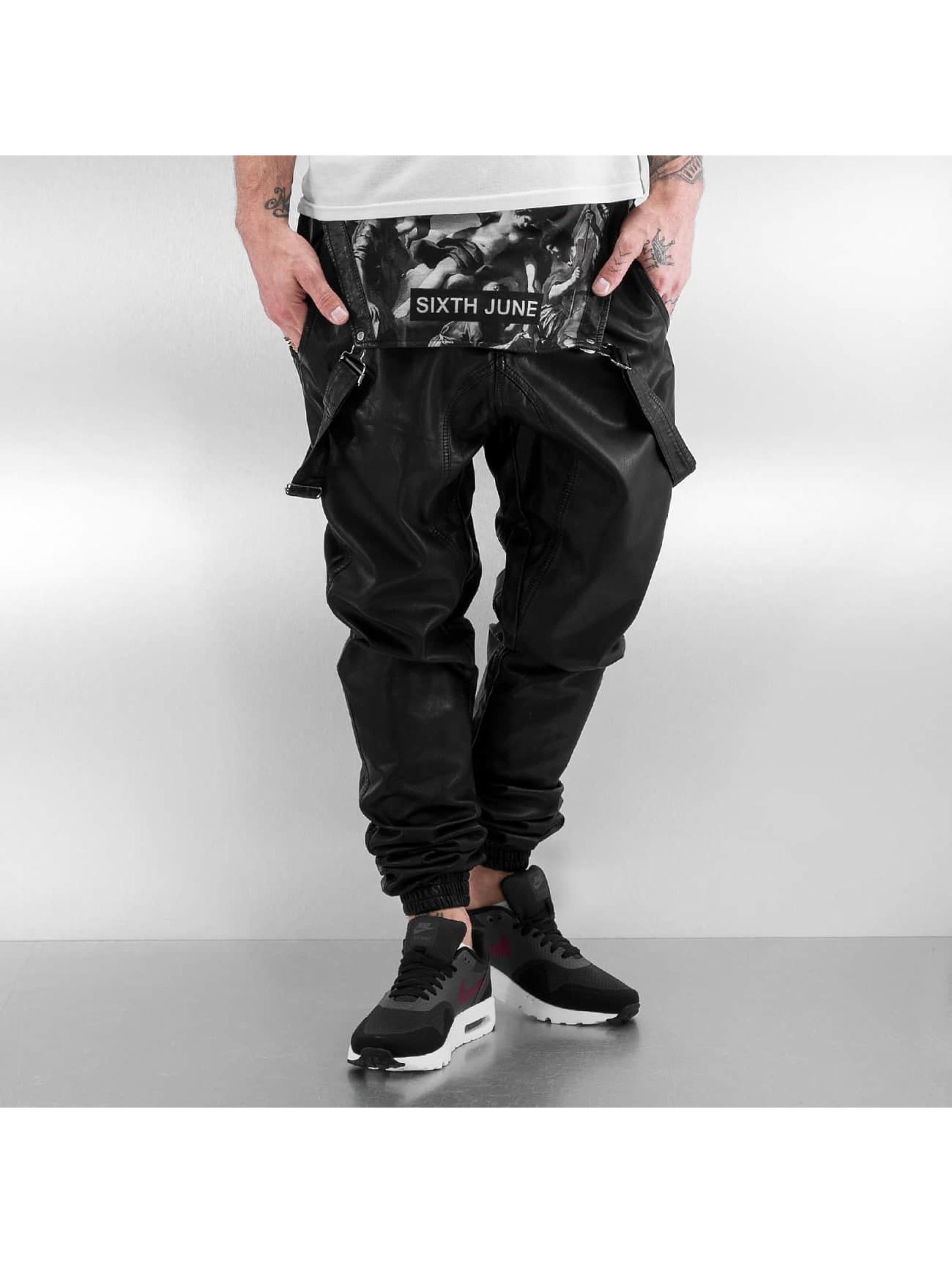Sixth June Renaissance Sweat Pants Black II