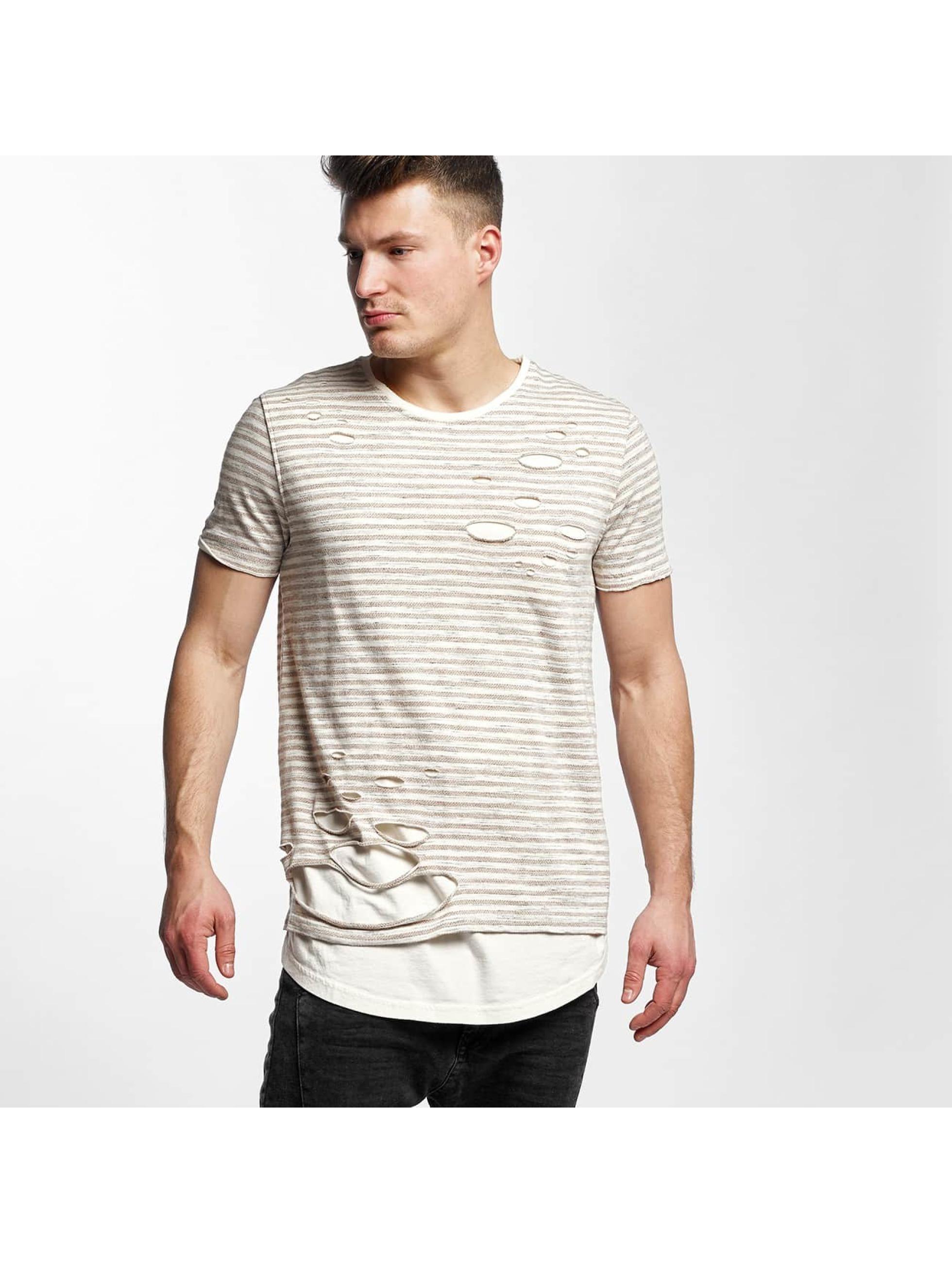 Black Kaviar Männer T-Shirt Stanwood in beige