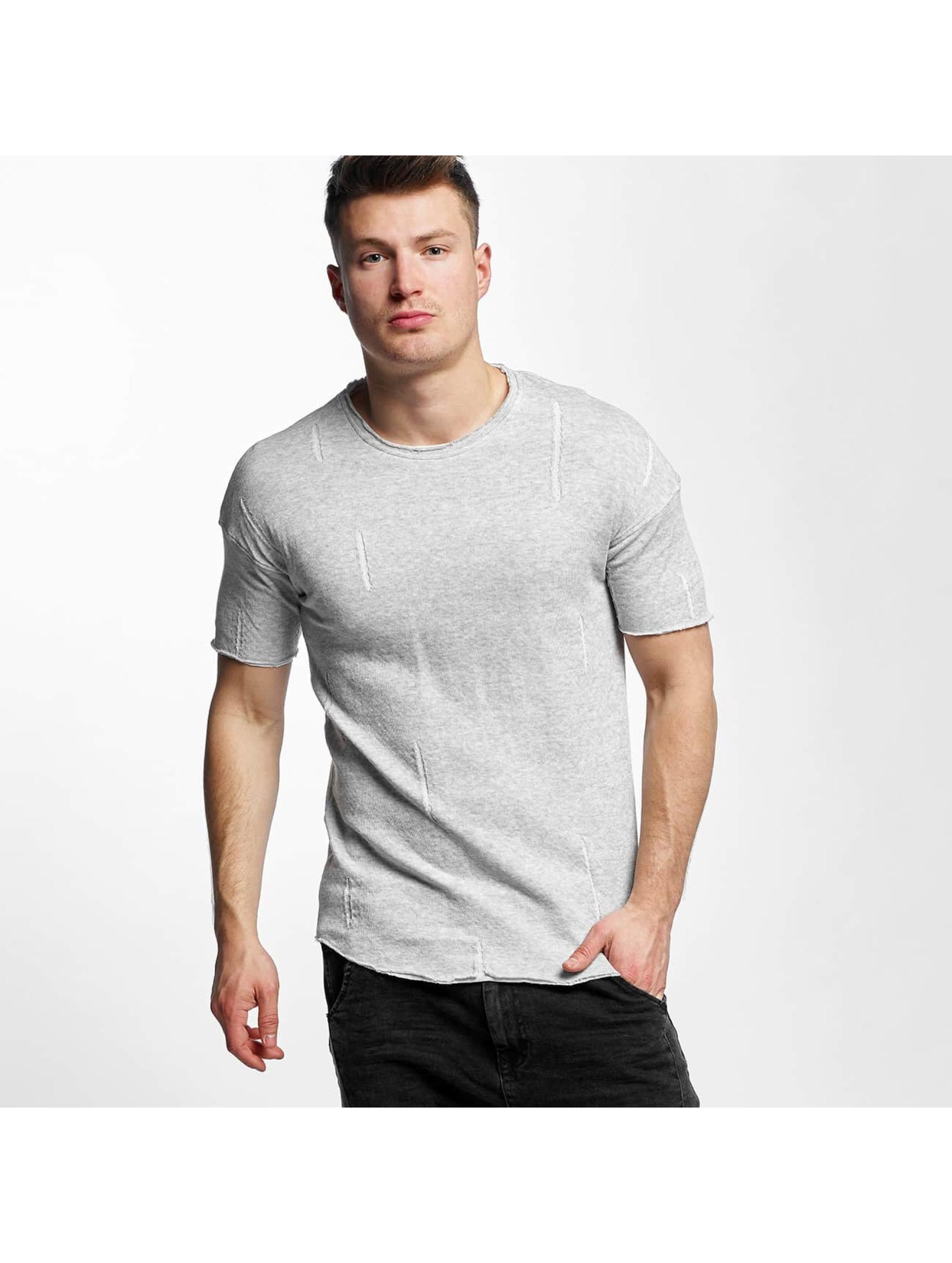 Black Kaviar Männer T-Shirt Sierra in grau