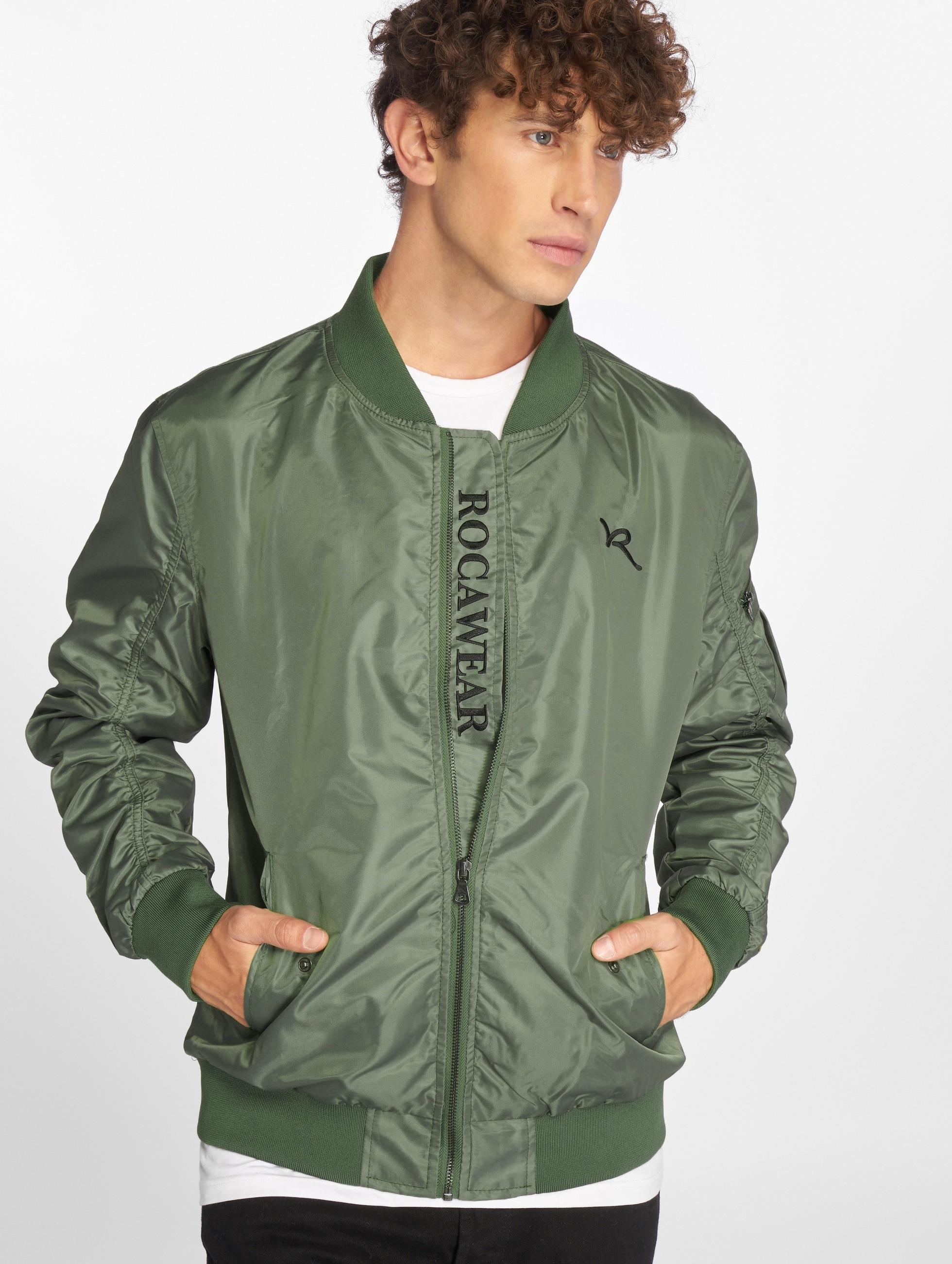 Rocawear / Bomber jacket Dariusz in olive XL