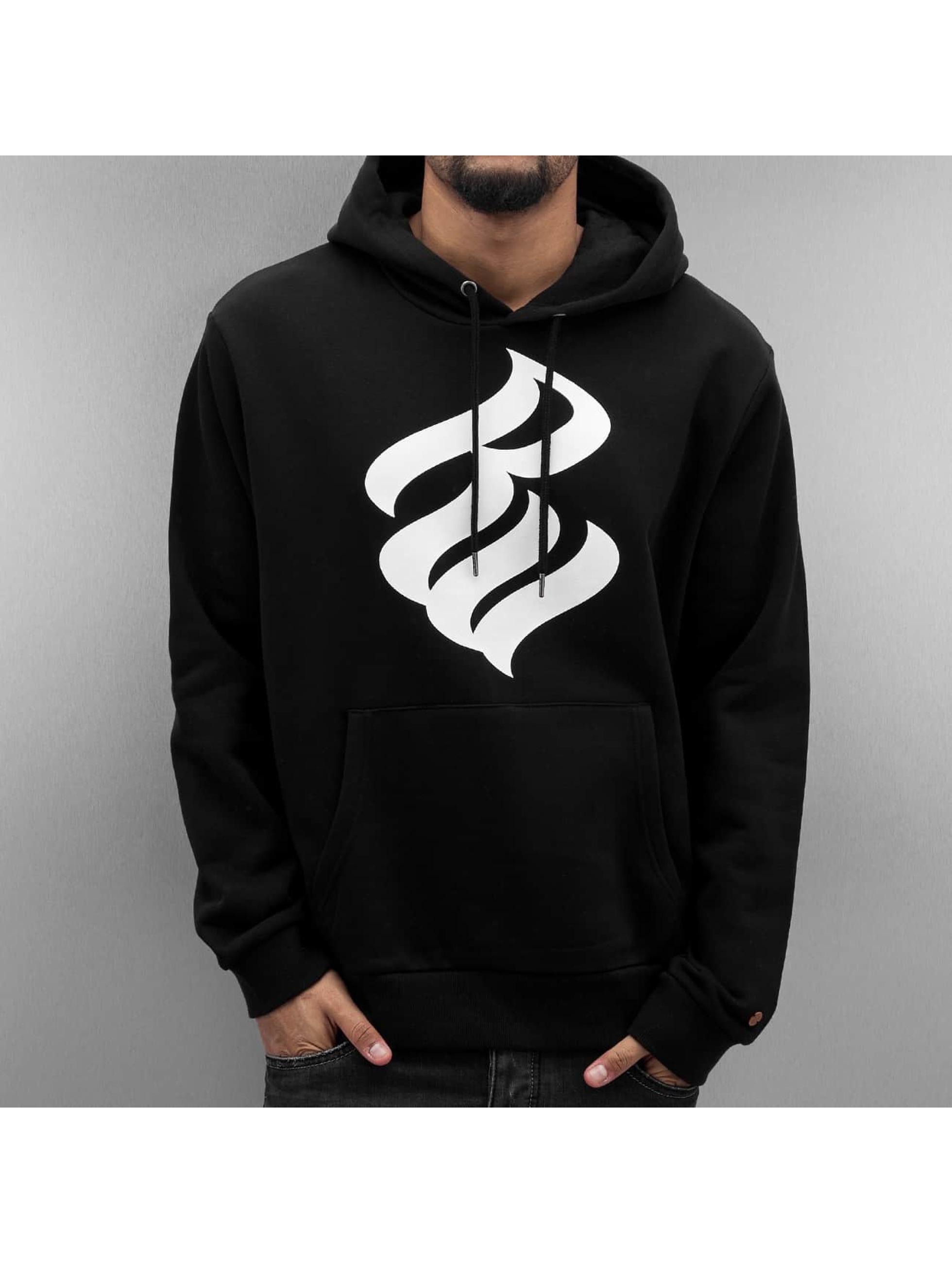 Rocawear / Hoodie Fleece in black XL
