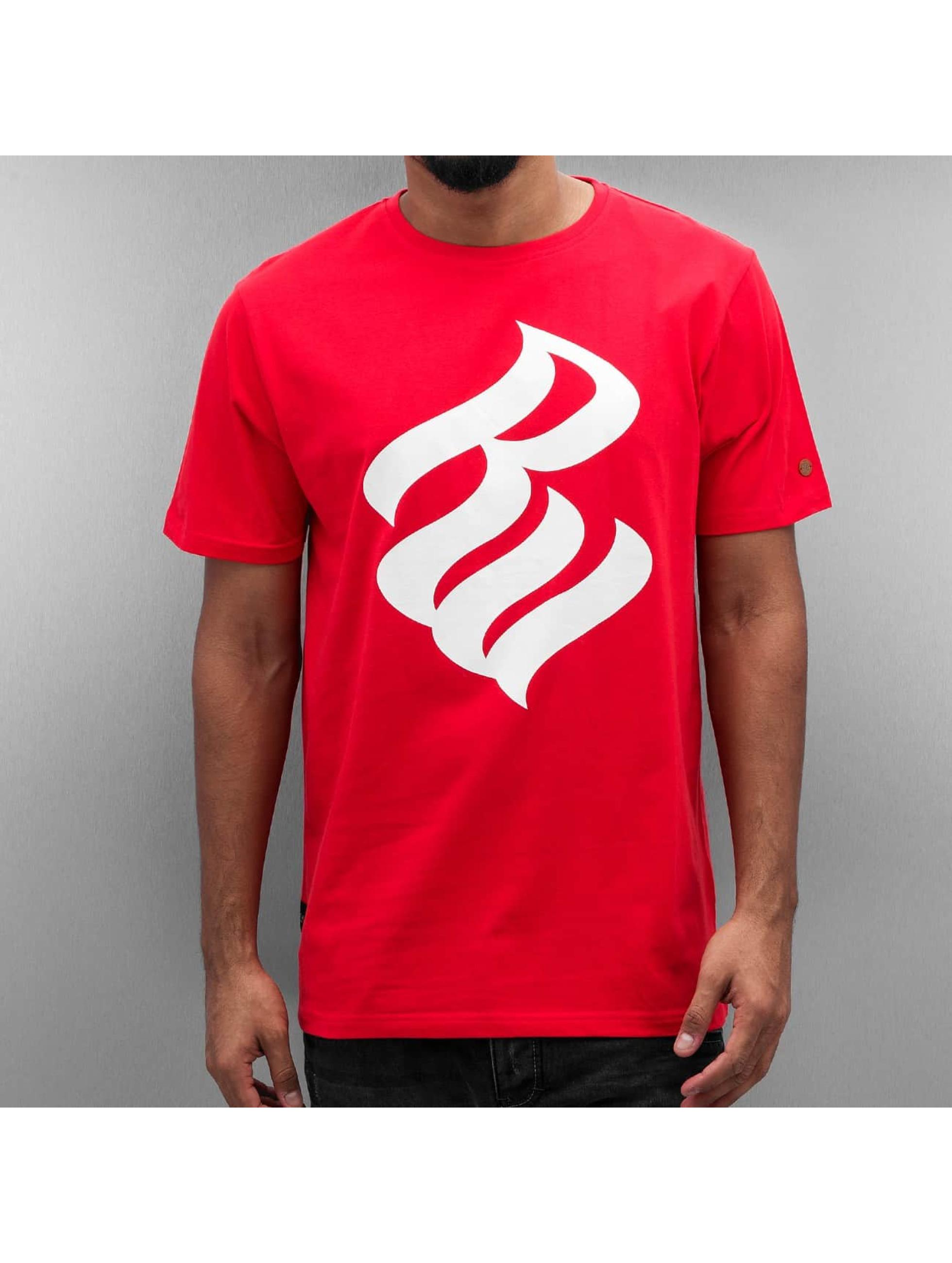 Rocawear Männer T-Shirt Logo in rot