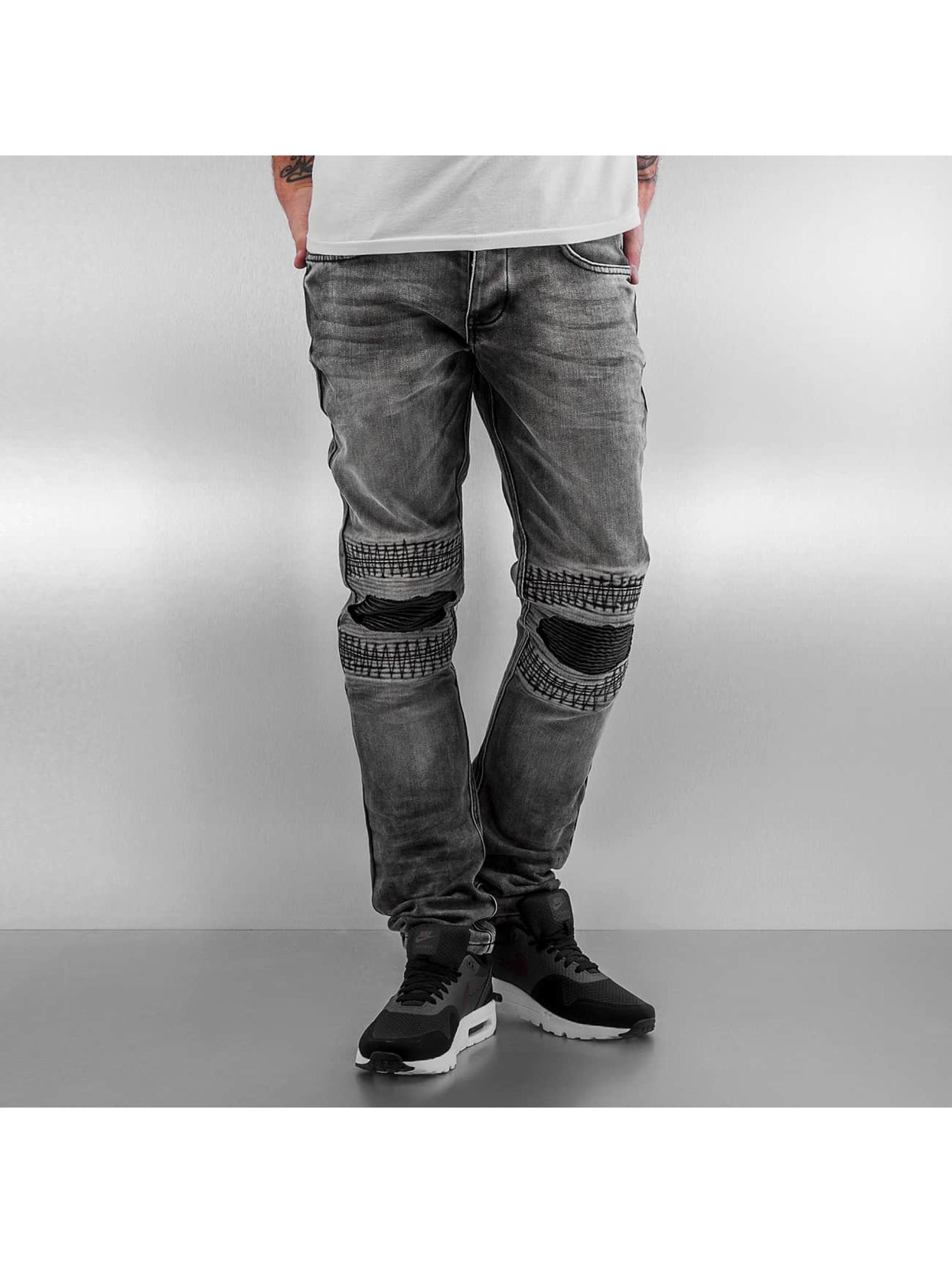 2Y / Slim Fit Jeans Knee in gray W 32