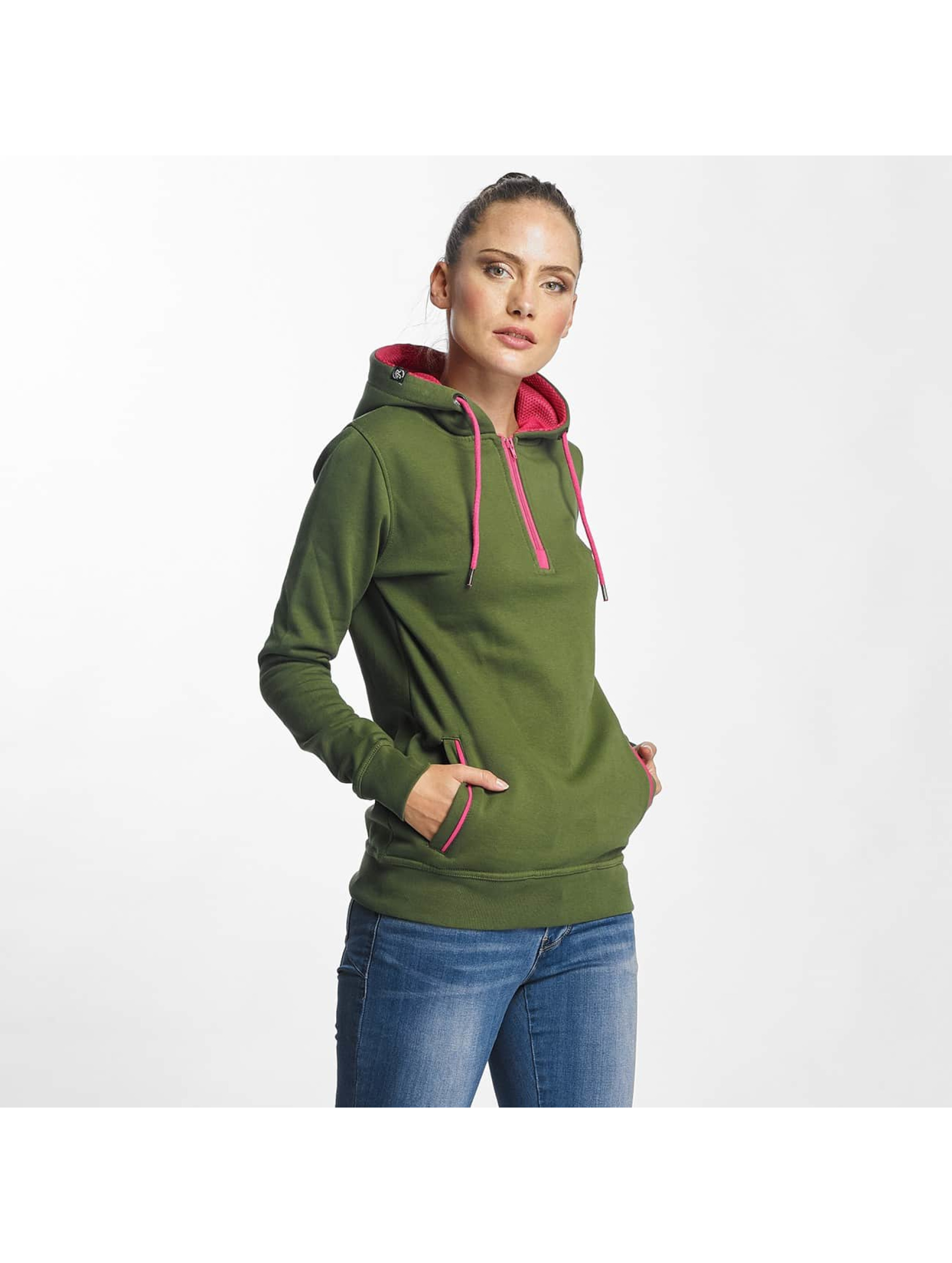 Just Rhyse / Hoodie Tyoneck in green XS