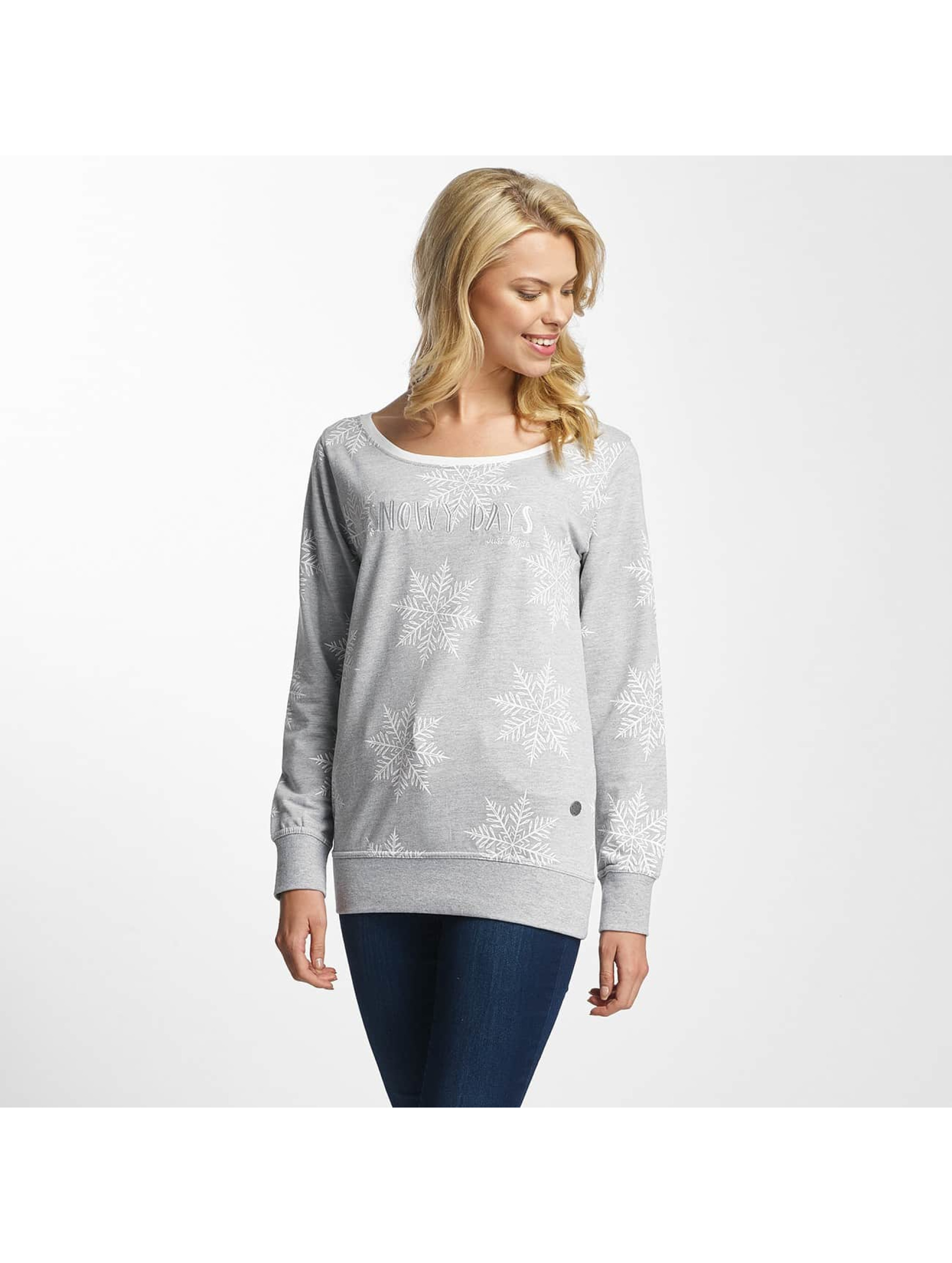 Just Rhyse / Jumper Snowy Days in grey XS
