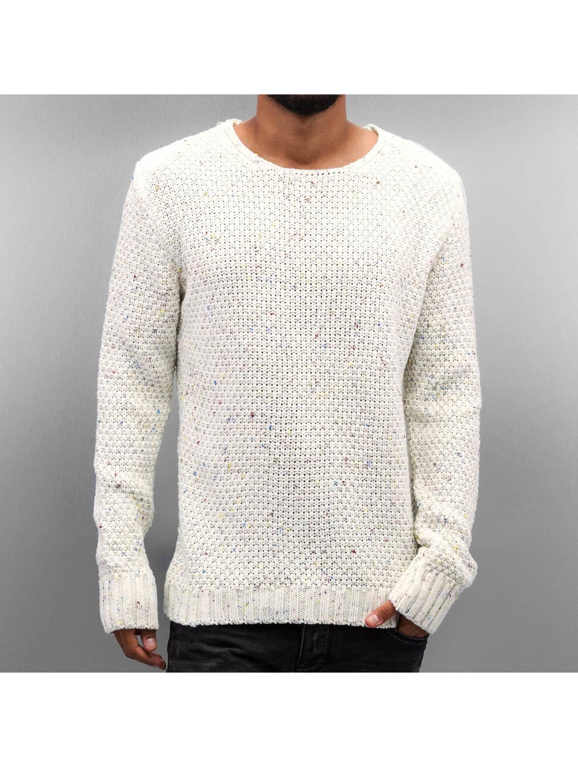 Just Rhyse Männer Pullover Soft Knit in weiß