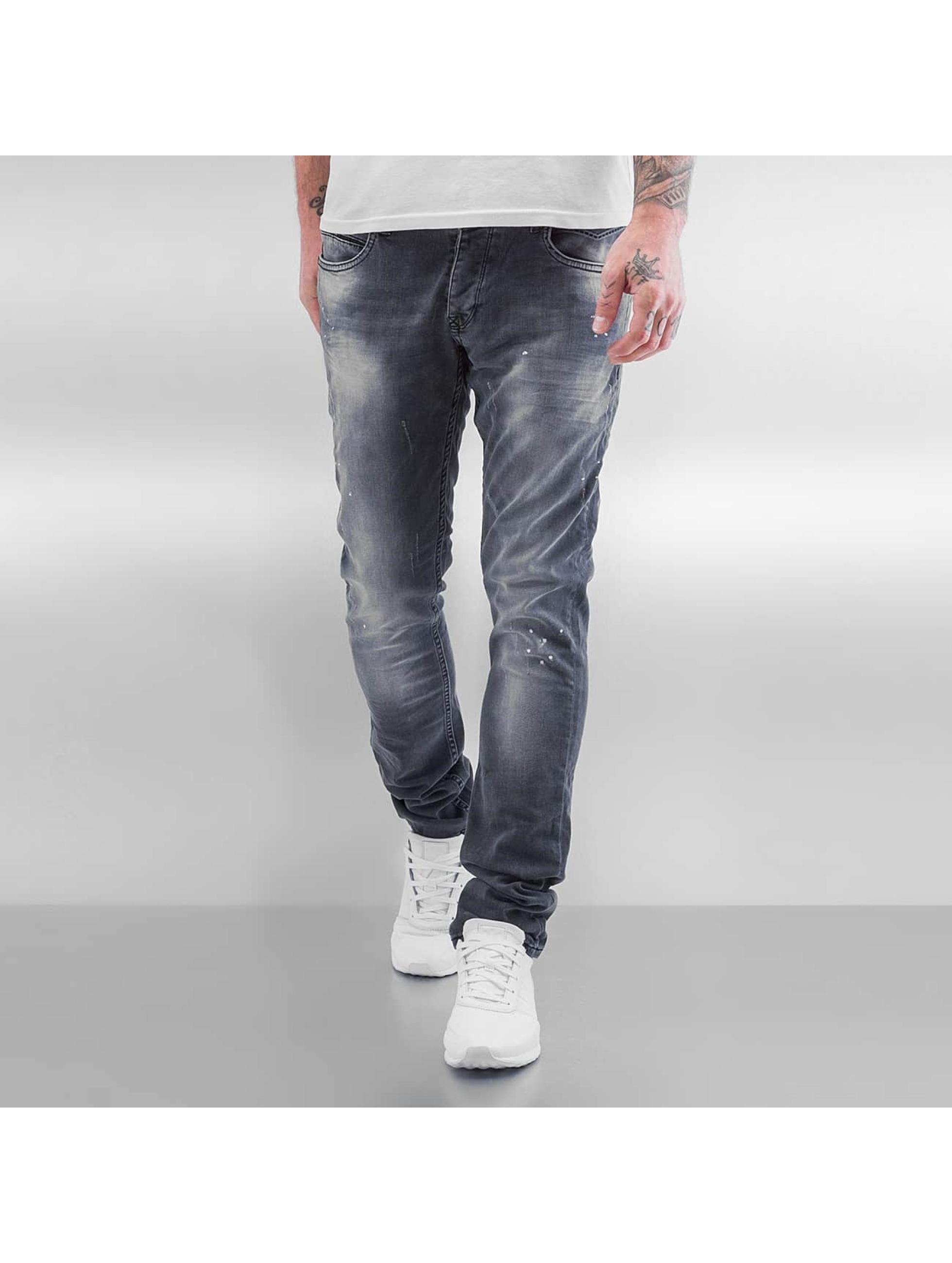 2Y Männer Skinny Jeans Weimar in grau