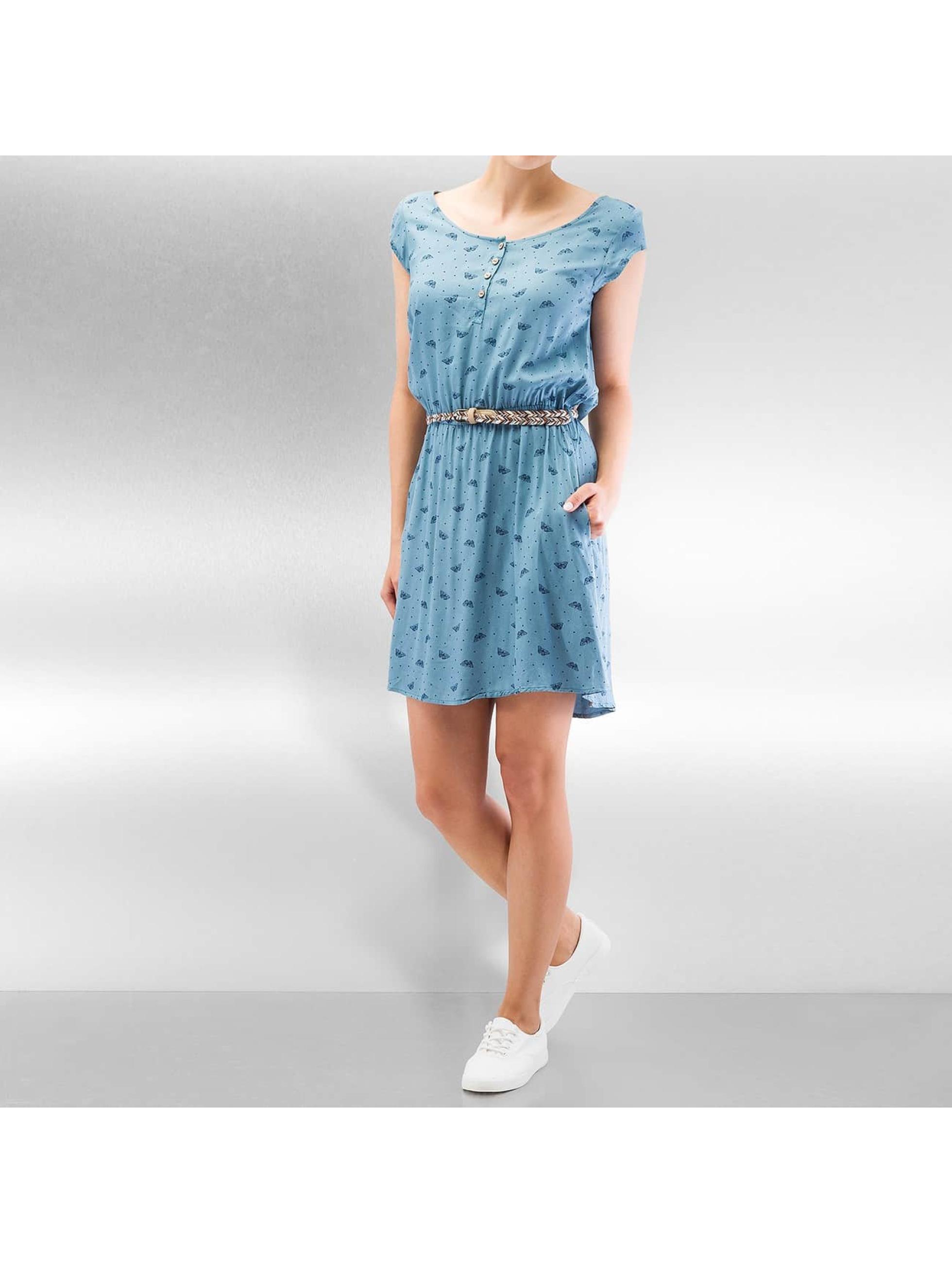Ragwear Frauen Kleid Zephie in blau