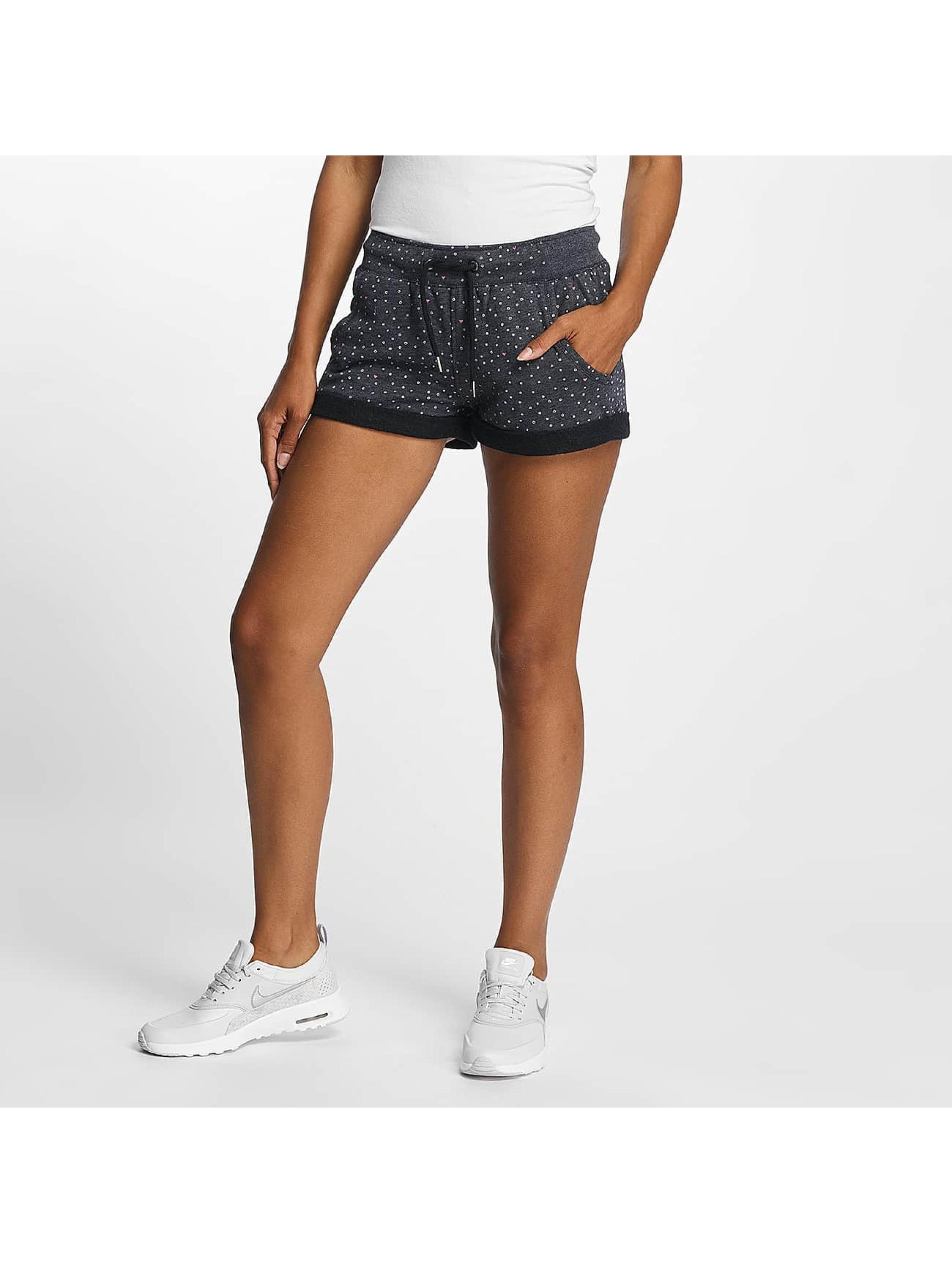 Ragwear Frauen Shorts Norah Dots in blau
