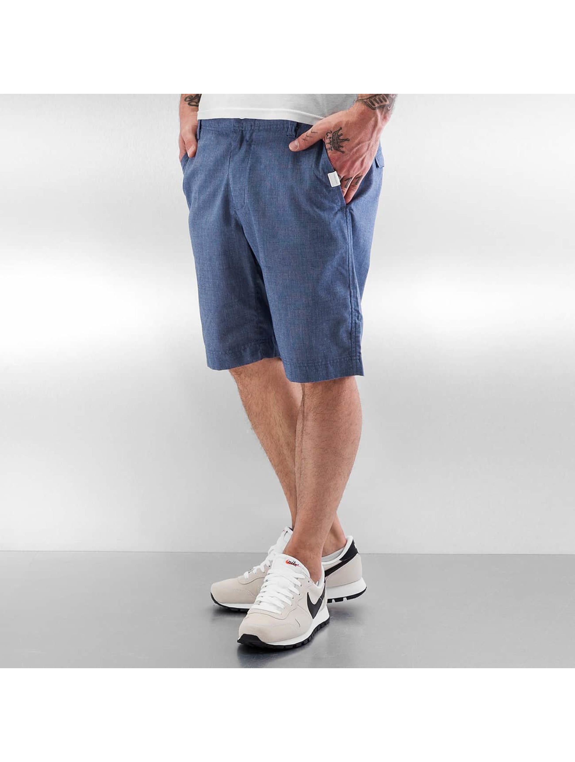 Ragwear Männer Shorts Karel Microchecks in blau