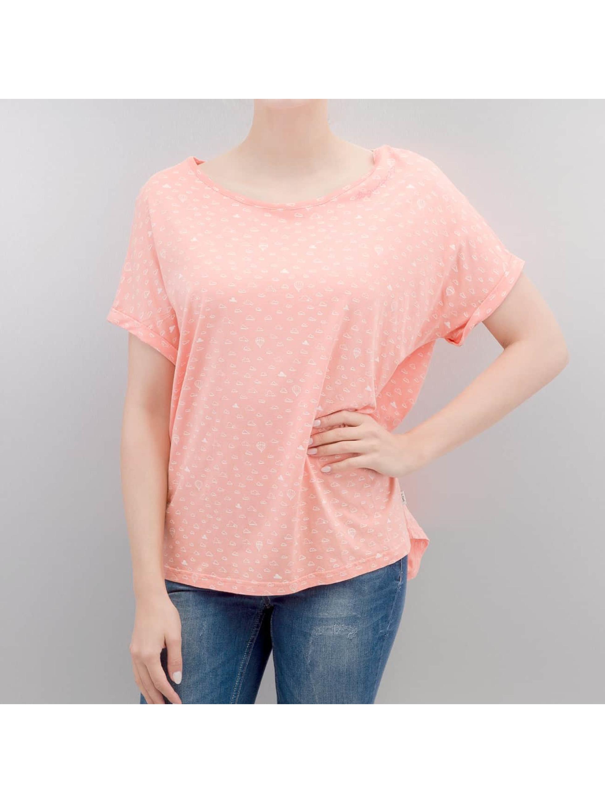 Ragwear Frauen T-Shirt Trible B Organic in rosa