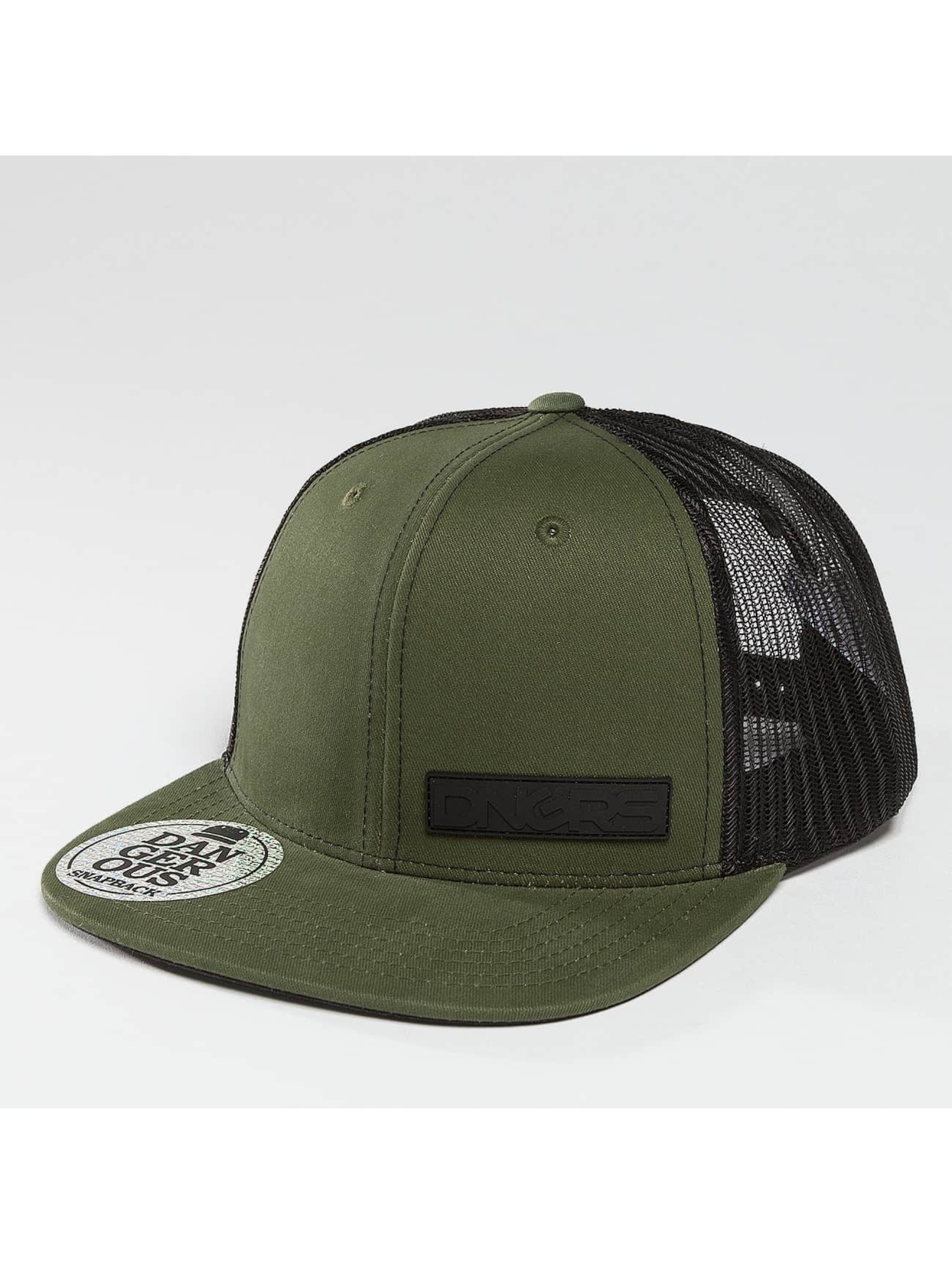 Dangerous DNGRS / Trucker Cap Meanie in olive