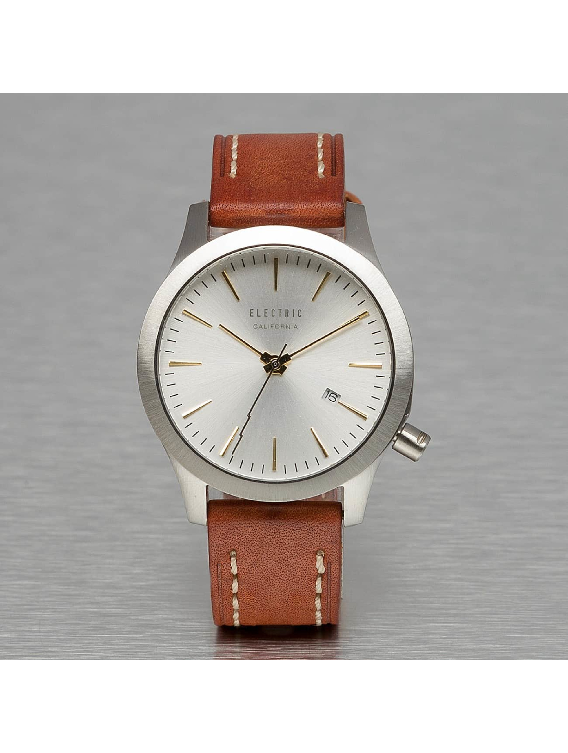 Electric Männer,Frauen Uhr FW03 Leather in braun