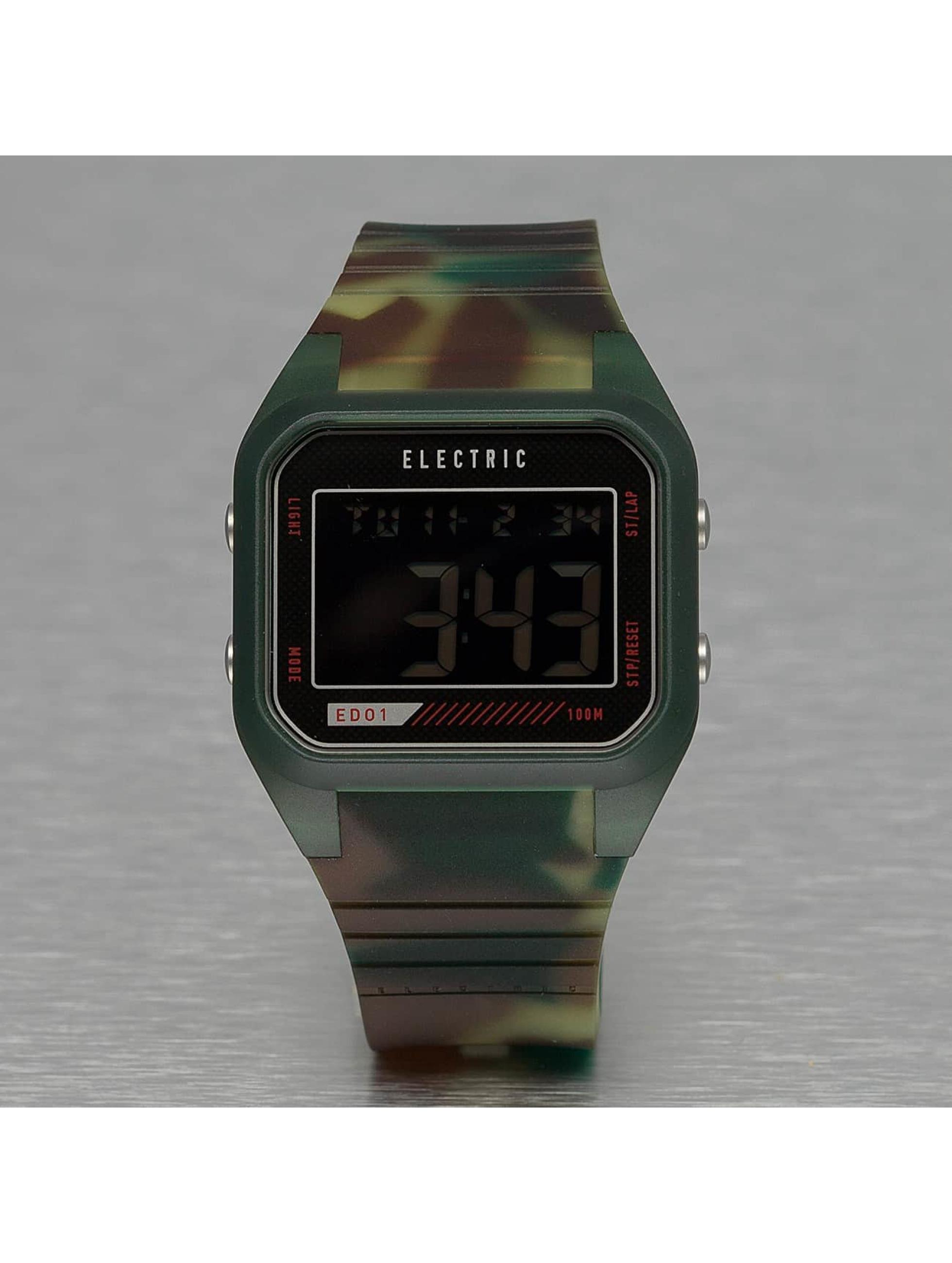 Electric Männer,Frauen Uhr ED01 PU in camouflage